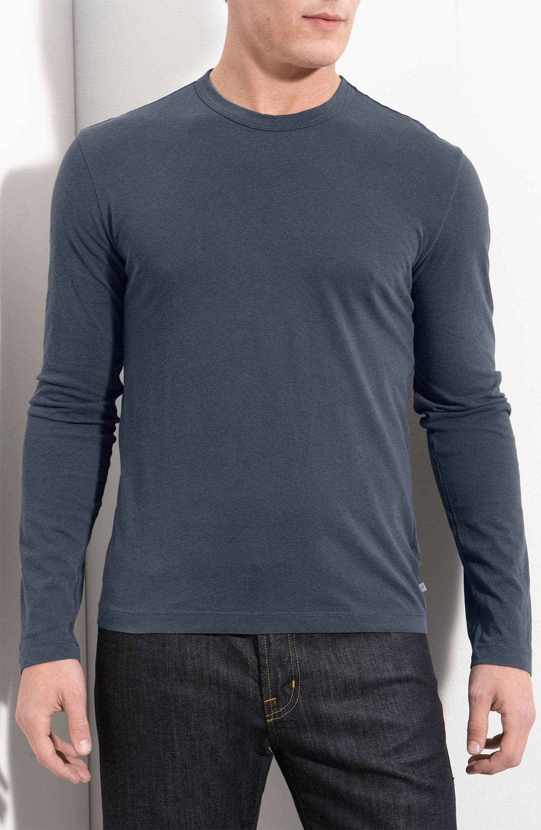 Long Sleeve Crewneck T-Shirt,                             Main thumbnail 22, color,