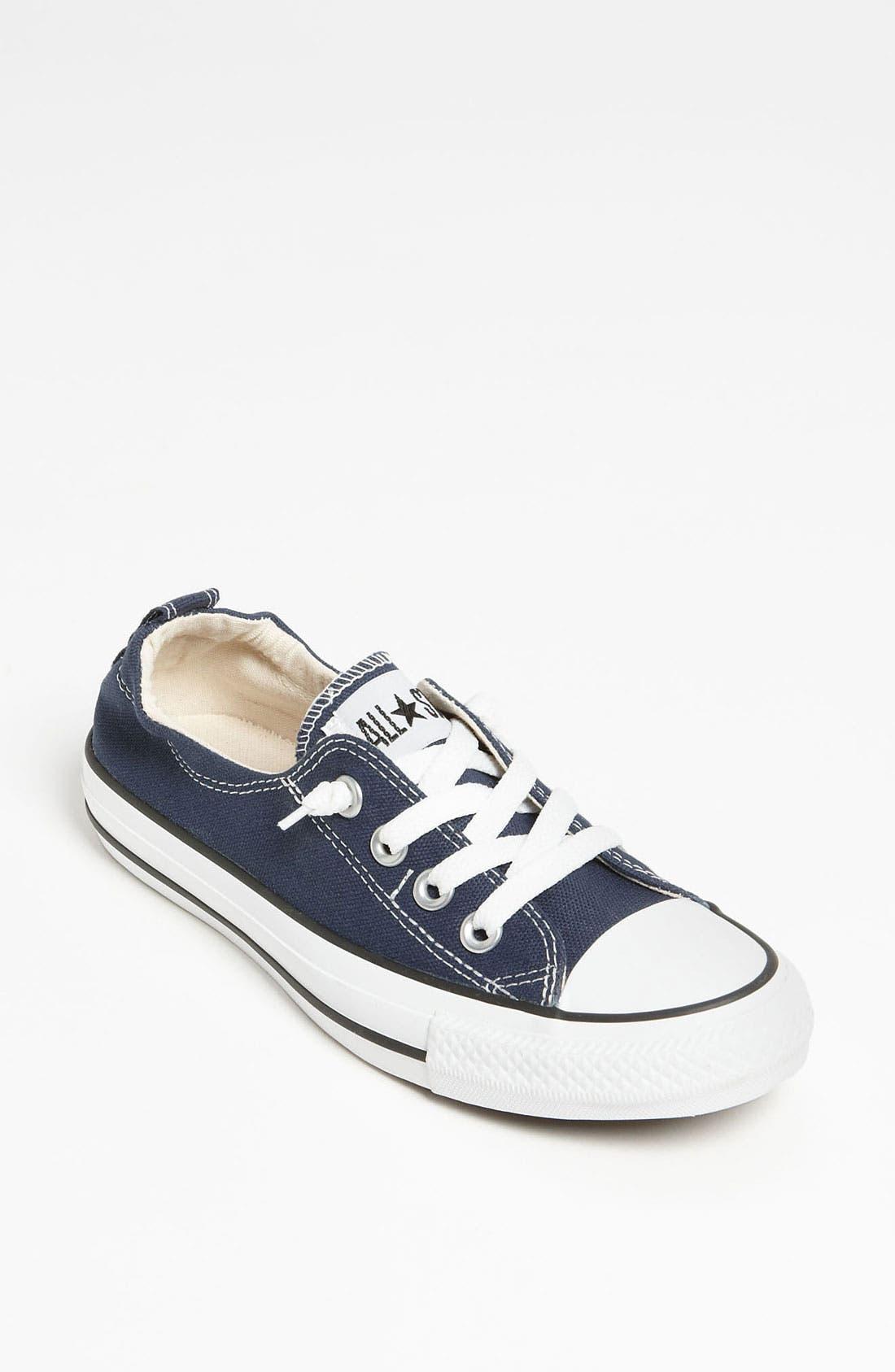 Chuck Taylor<sup>®</sup> 'Shoreline' Sneaker,                             Main thumbnail 1, color,                             NAVY