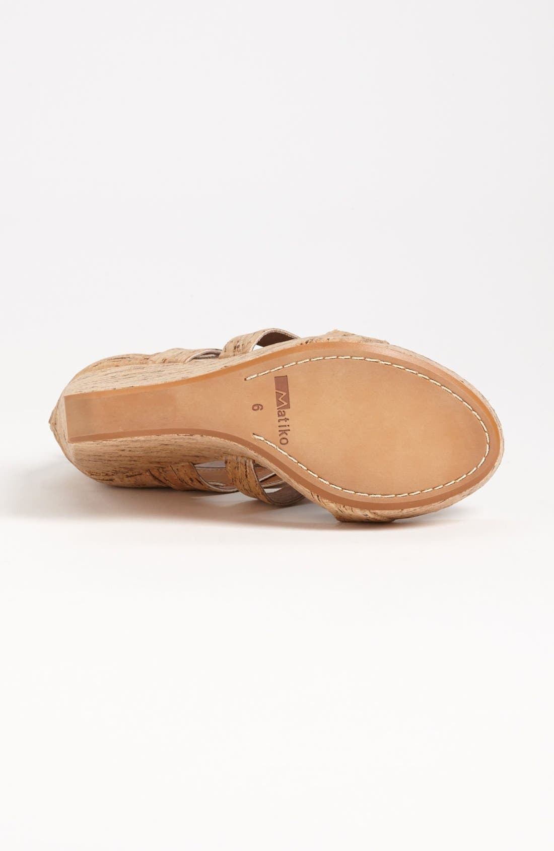 'Crisscross' Wedge Sandal,                             Alternate thumbnail 7, color,