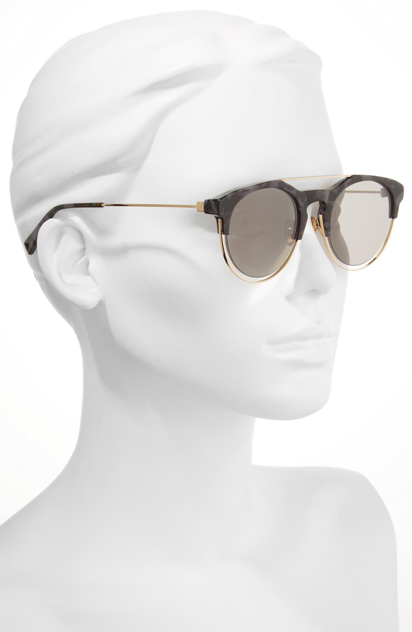 Affix 51mm Round Sunglasses,                             Alternate thumbnail 2, color,                             020