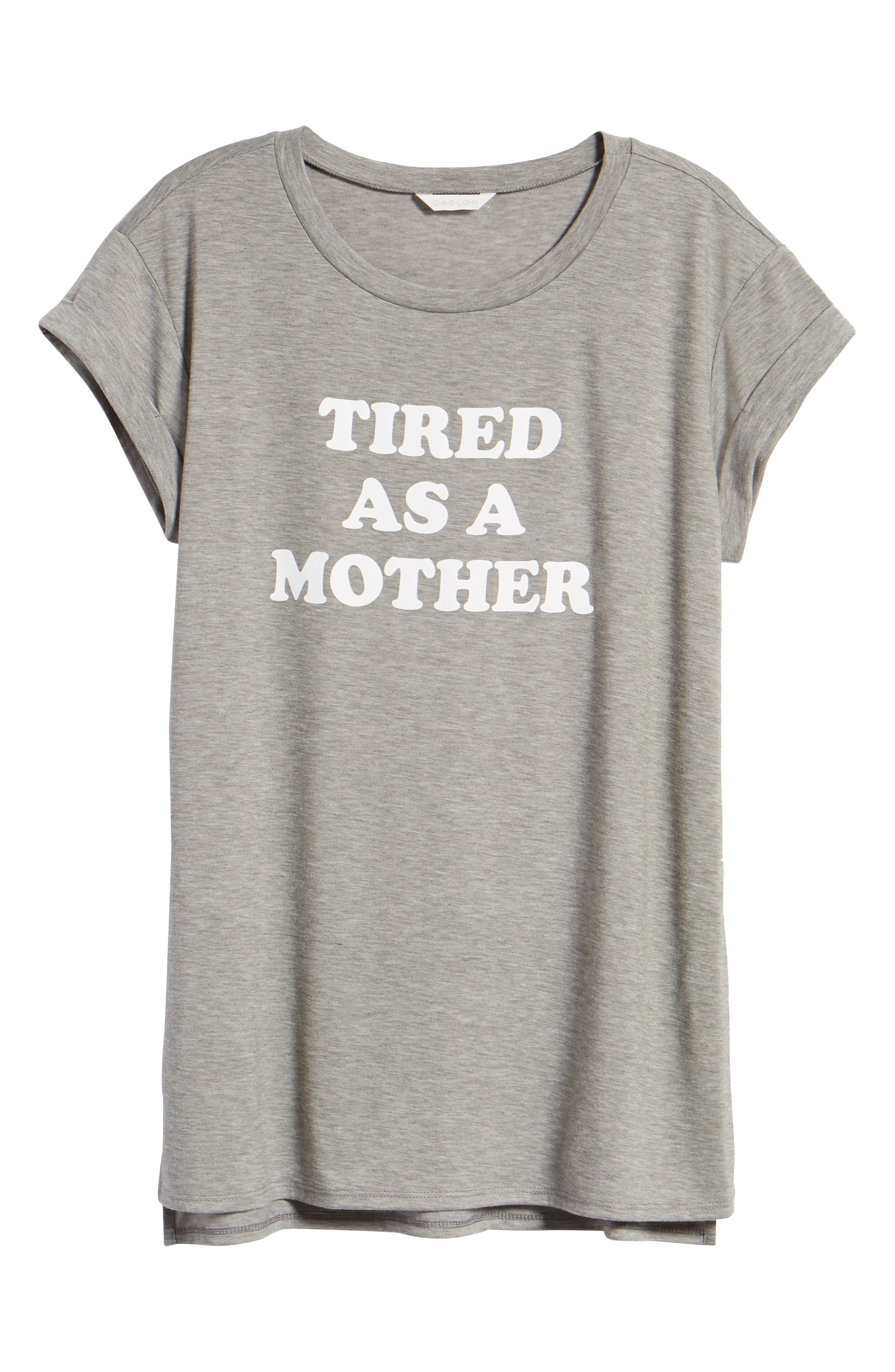Off-Duty Mother Tee,                             Alternate thumbnail 7, color,                             030