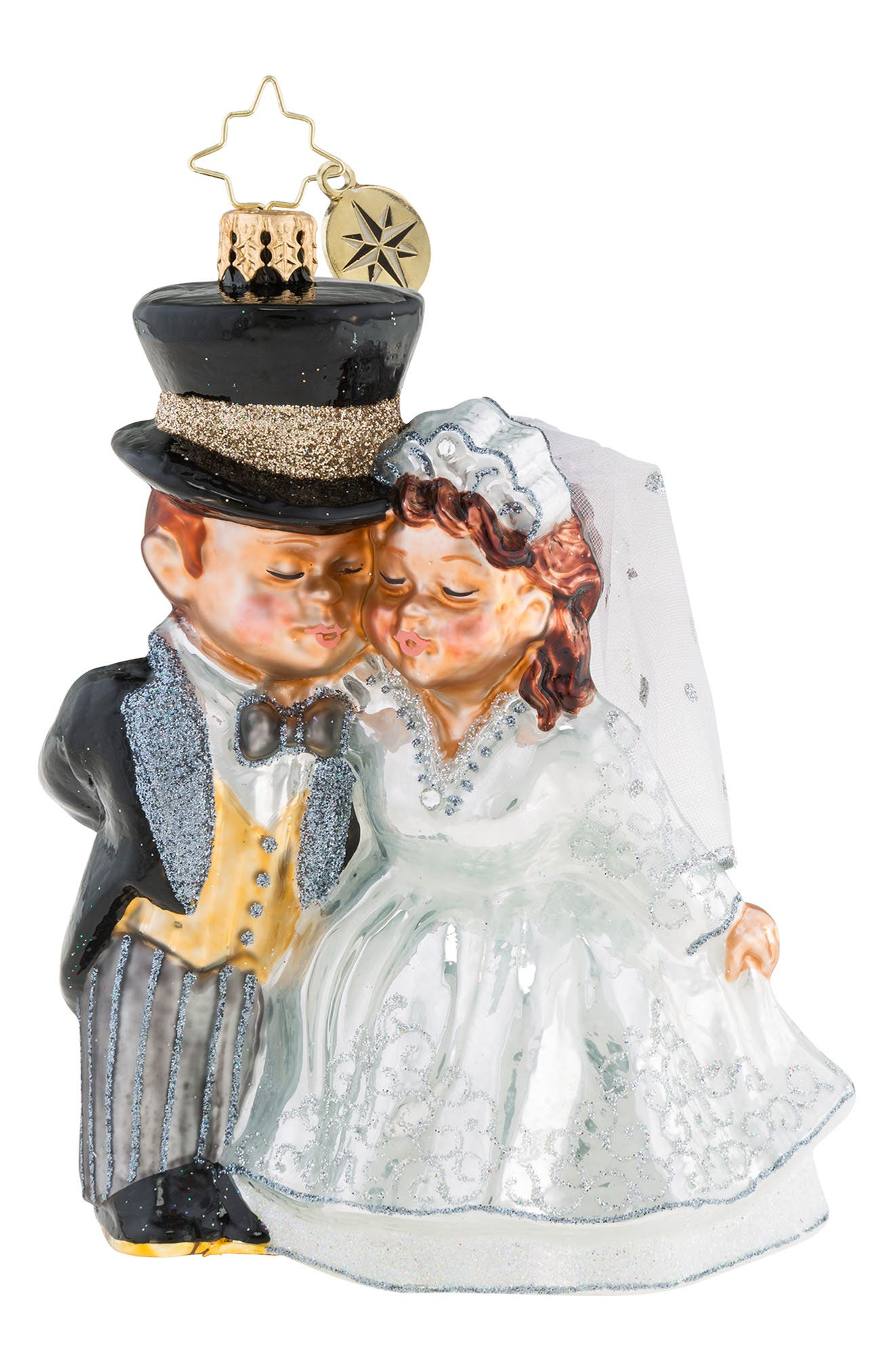 An Altared State Just Married Ornament,                         Main,                         color, 100
