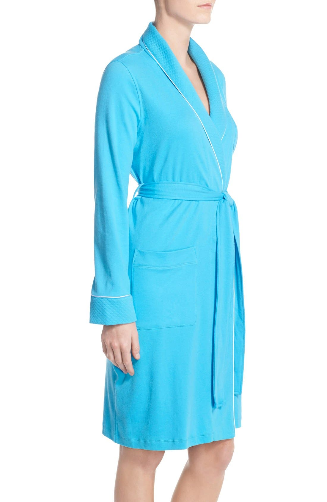 Quilted Collar Robe,                             Alternate thumbnail 72, color,