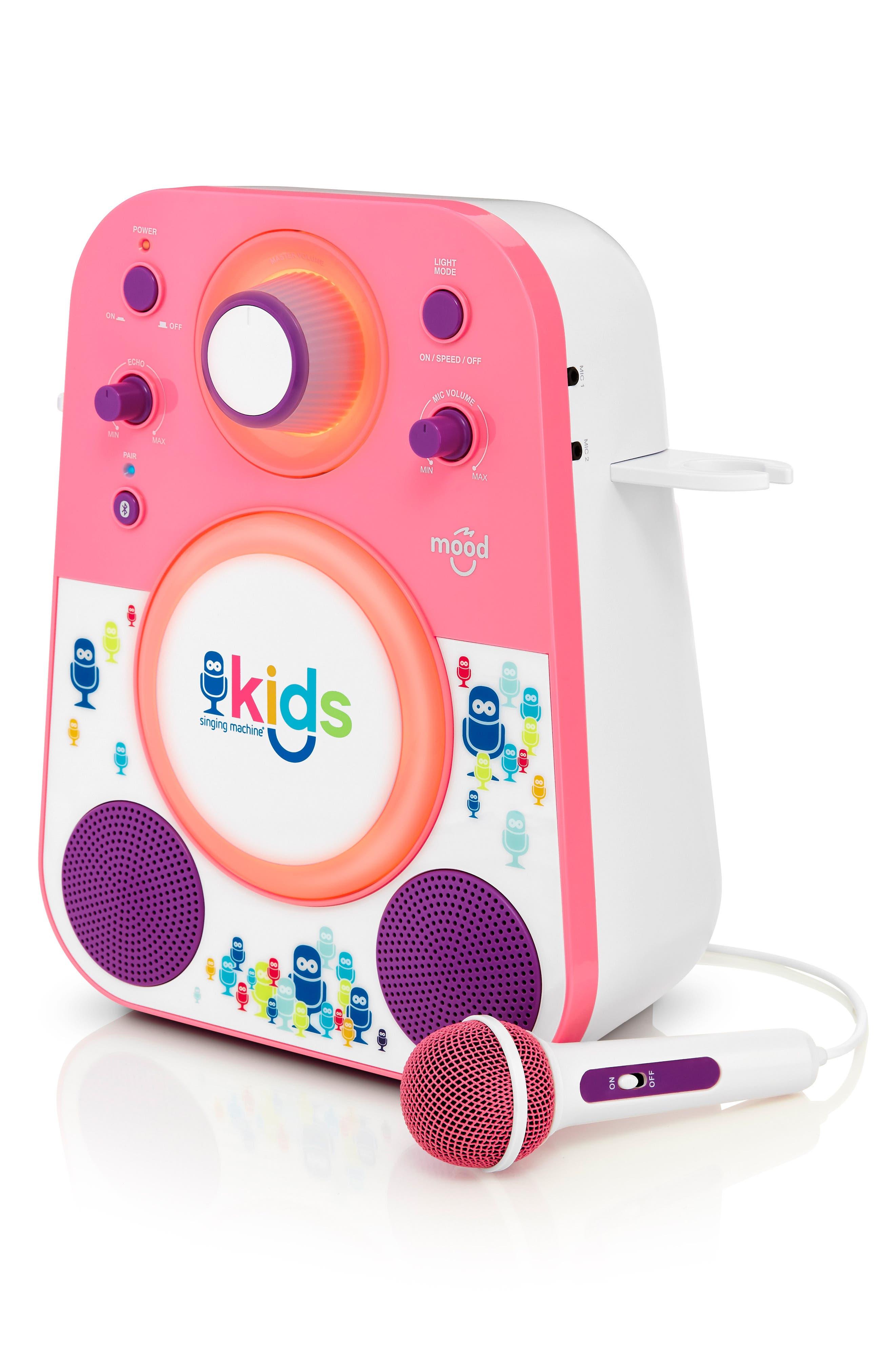 Kids Mood Karaoke System,                             Alternate thumbnail 5, color,                             PINK PURPLE