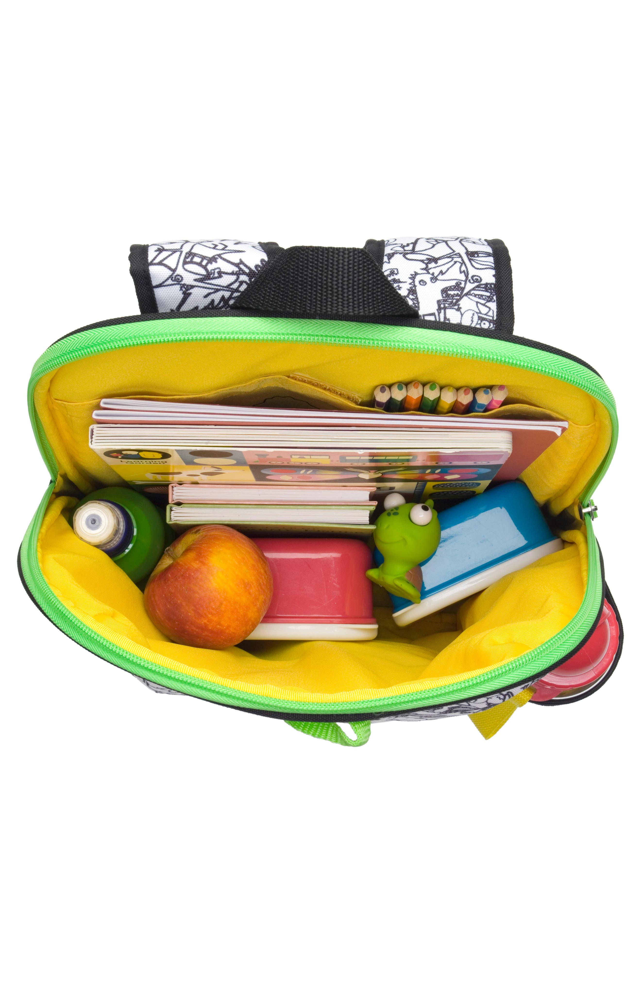 Print Backpack,                             Alternate thumbnail 5, color,                             011