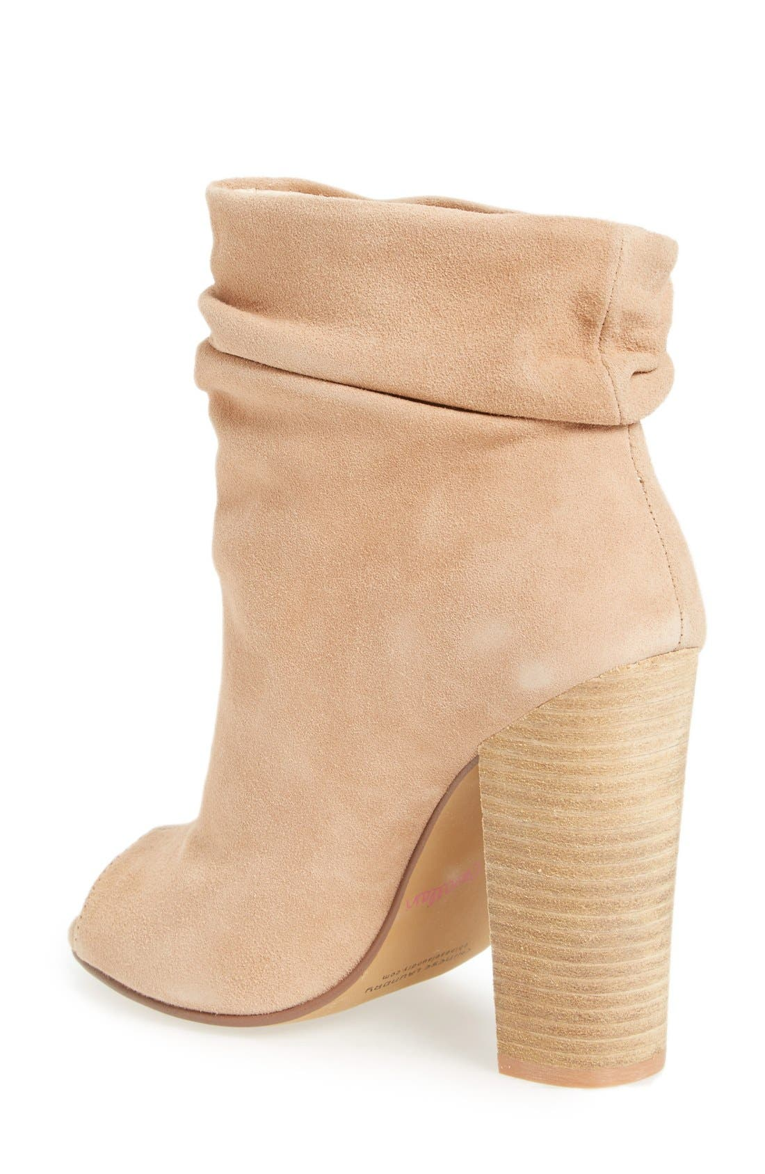 'Laurel' Peep Toe Bootie,                             Alternate thumbnail 13, color,