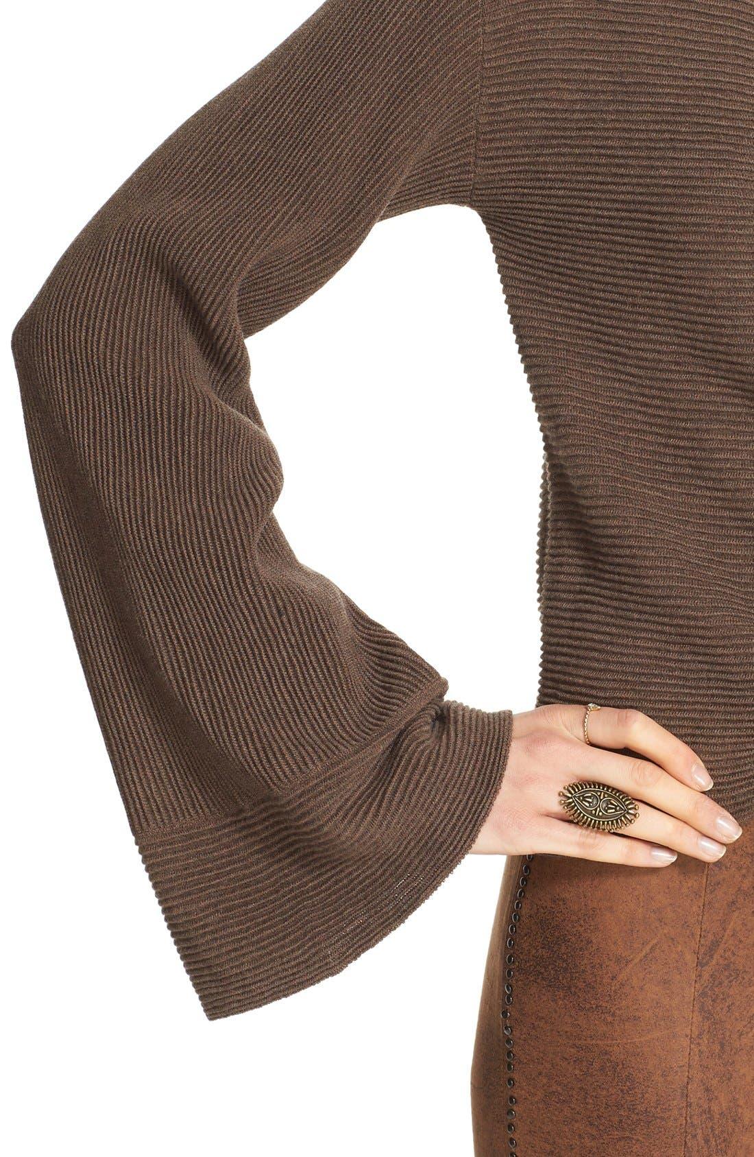 'Starman' Rib Knit Pullover,                             Alternate thumbnail 5, color,                             200