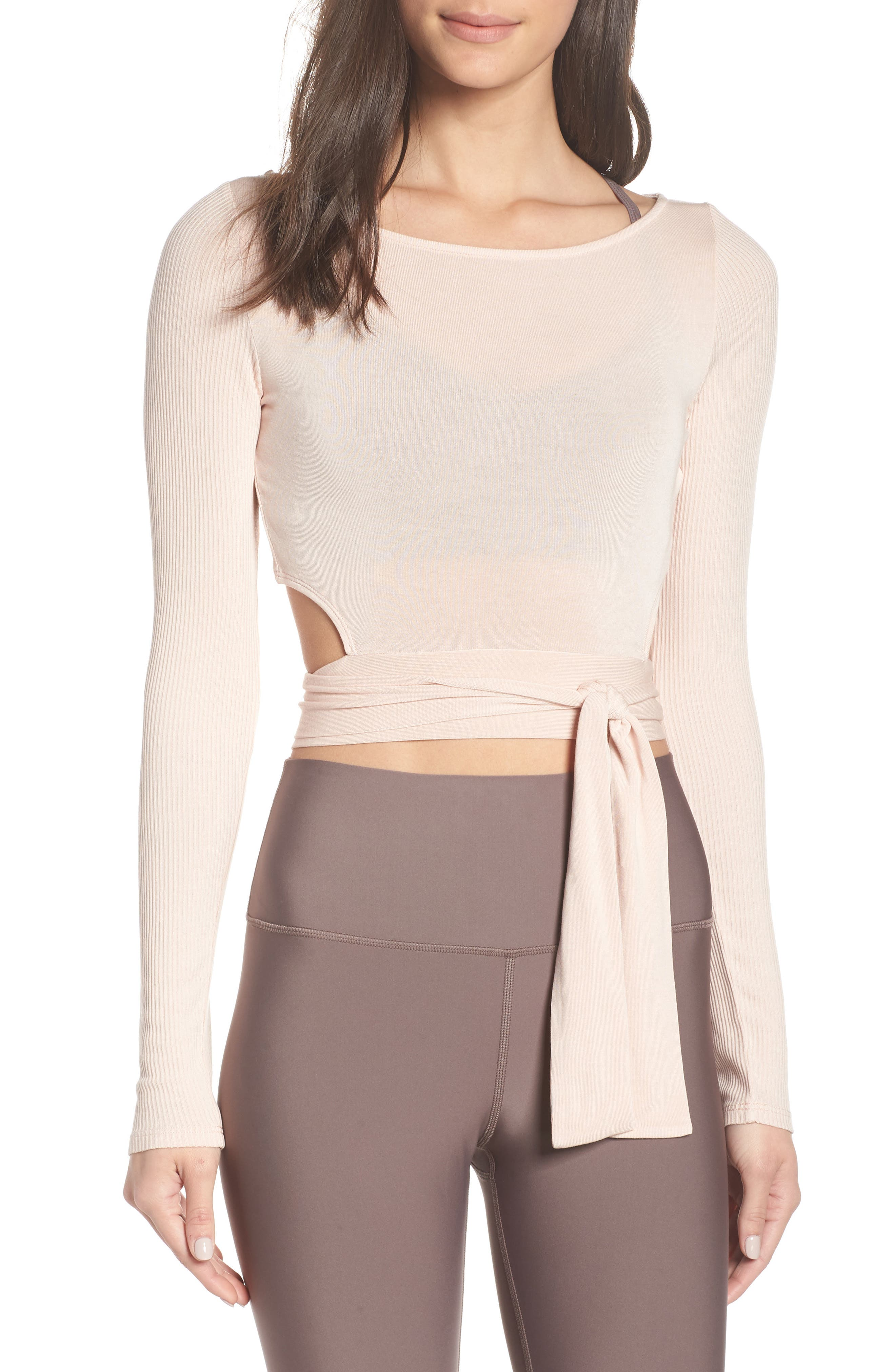 Crop Wrap Top by Alo