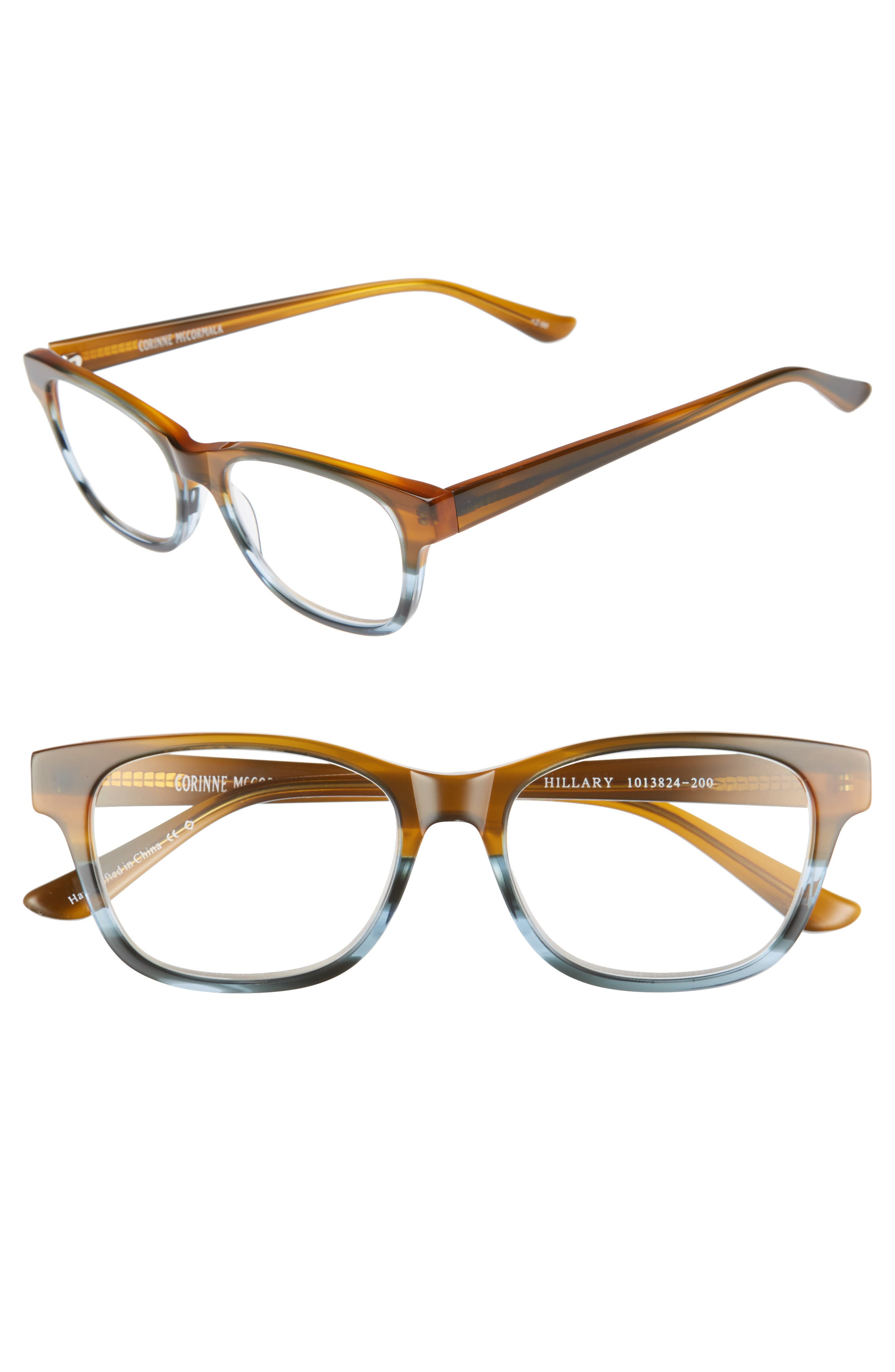 Hillary 50mm Reading Glasses,                         Main,                         color, 200