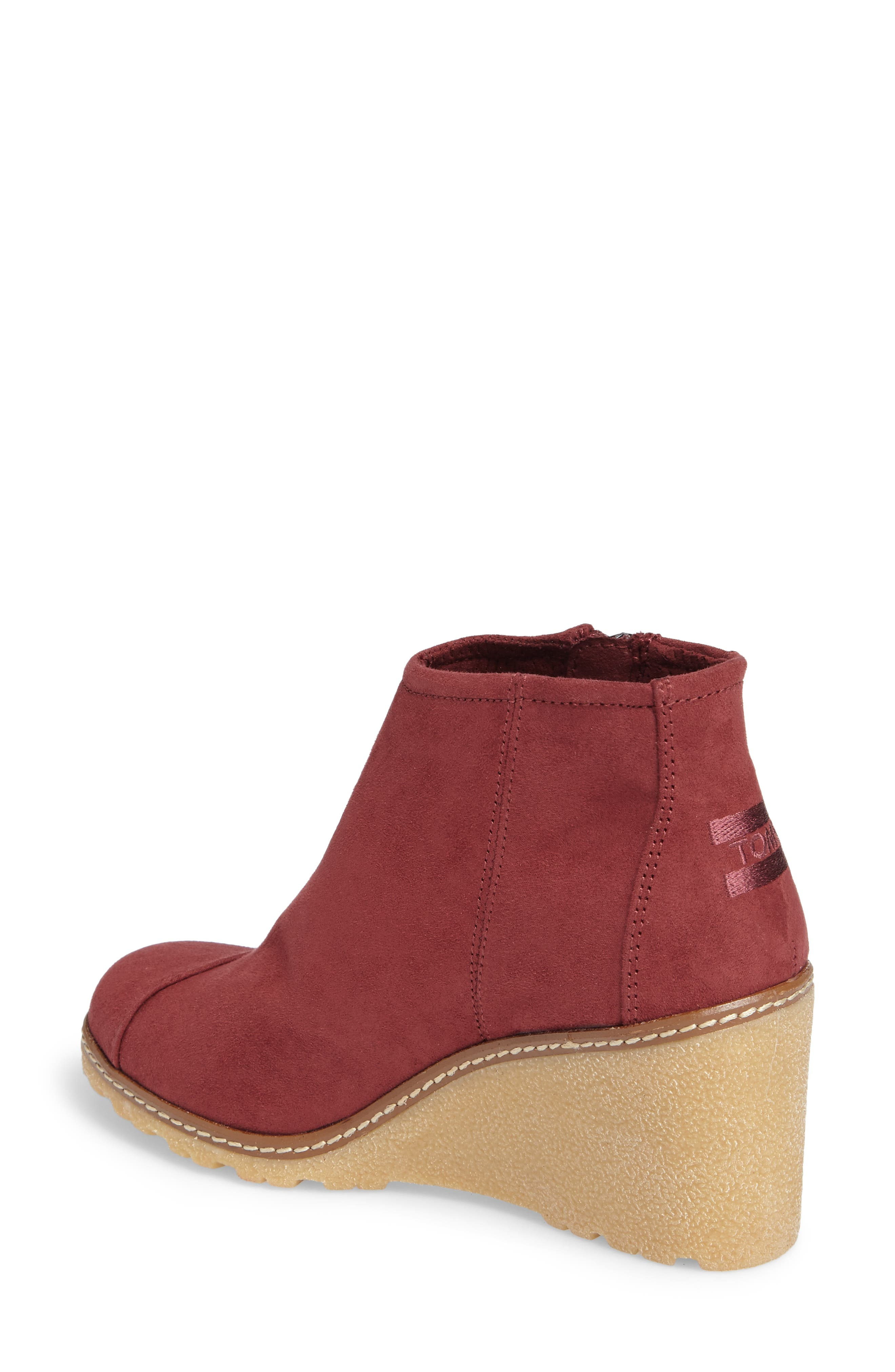 Avery Wedge Bootie,                             Alternate thumbnail 8, color,