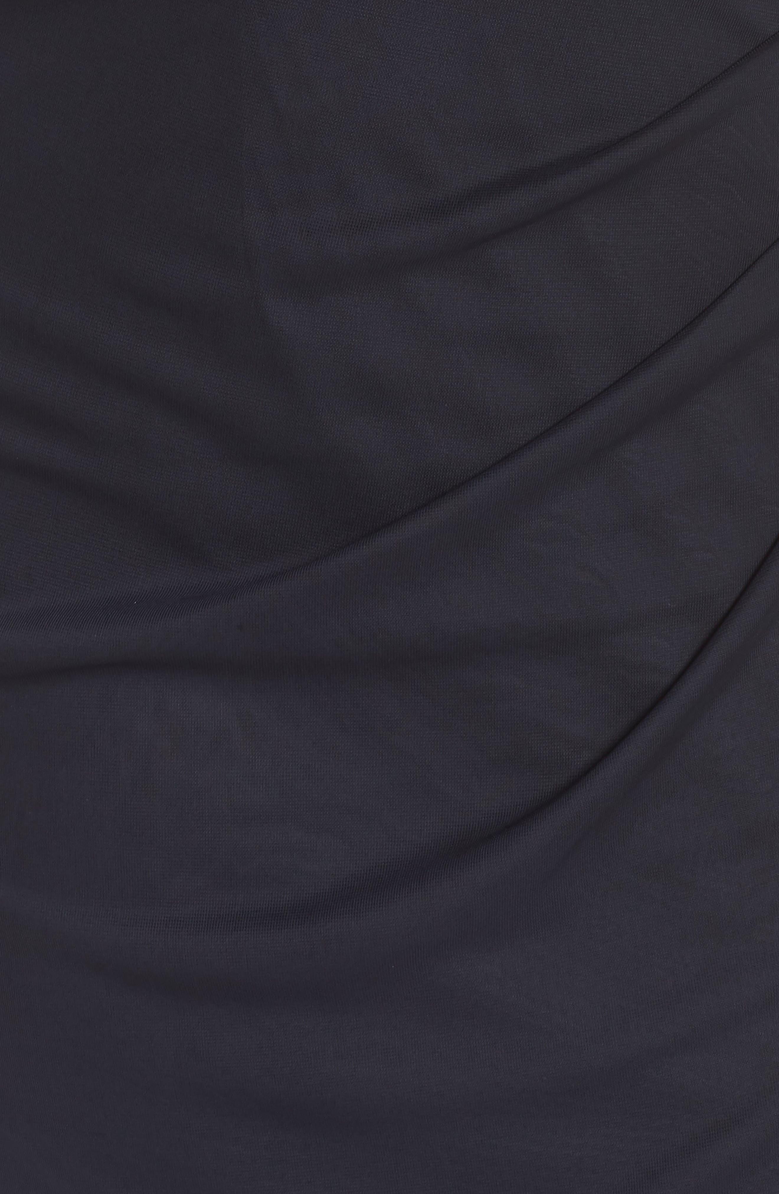 XSCAPE,                             Beaded Yoke Gown,                             Alternate thumbnail 6, color,                             020