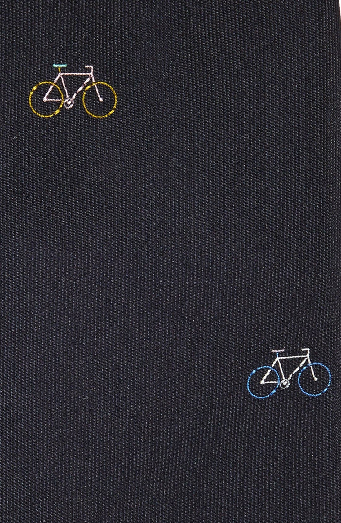 'Bicycle' Silk Tie,                             Alternate thumbnail 2, color,                             414