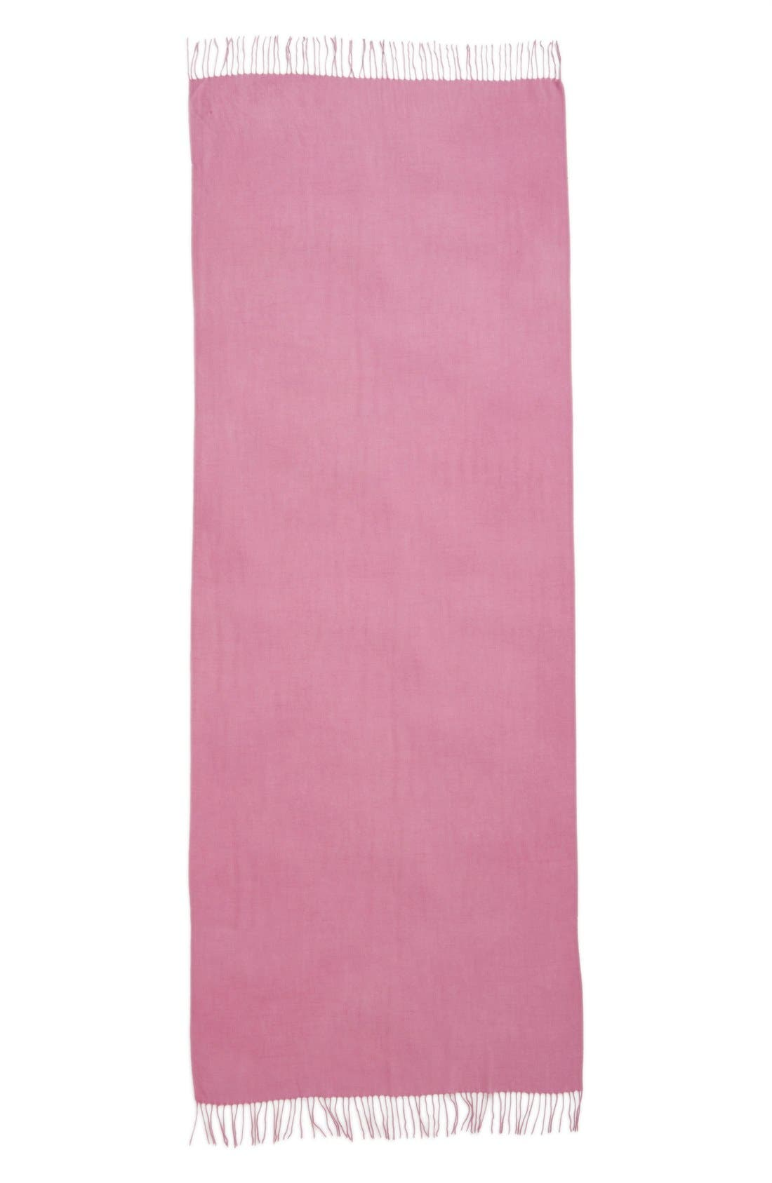 Tissue Weight Wool & Cashmere Scarf,                             Alternate thumbnail 192, color,