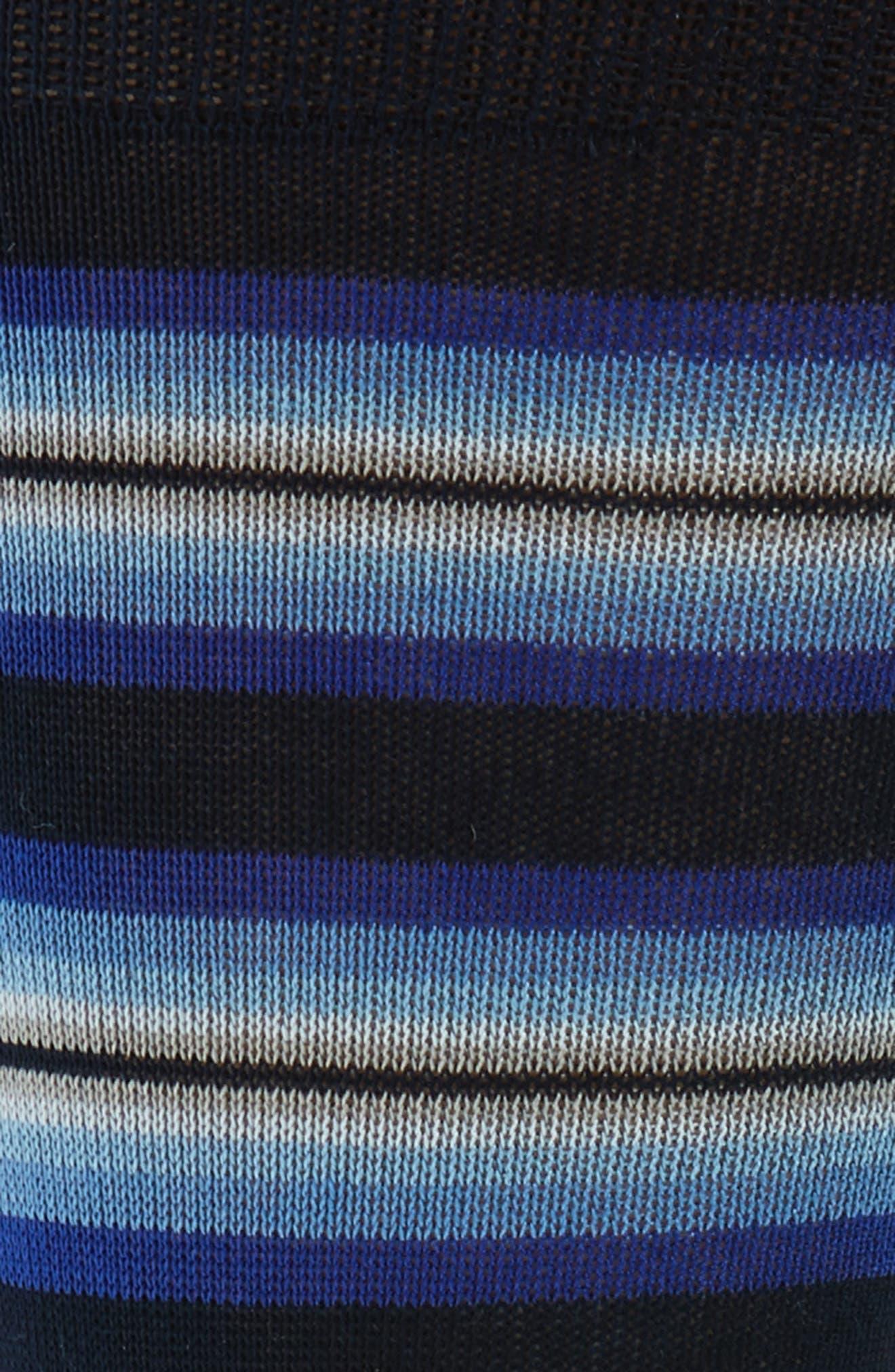 Tiger Stripe Socks,                             Alternate thumbnail 2, color,                             497