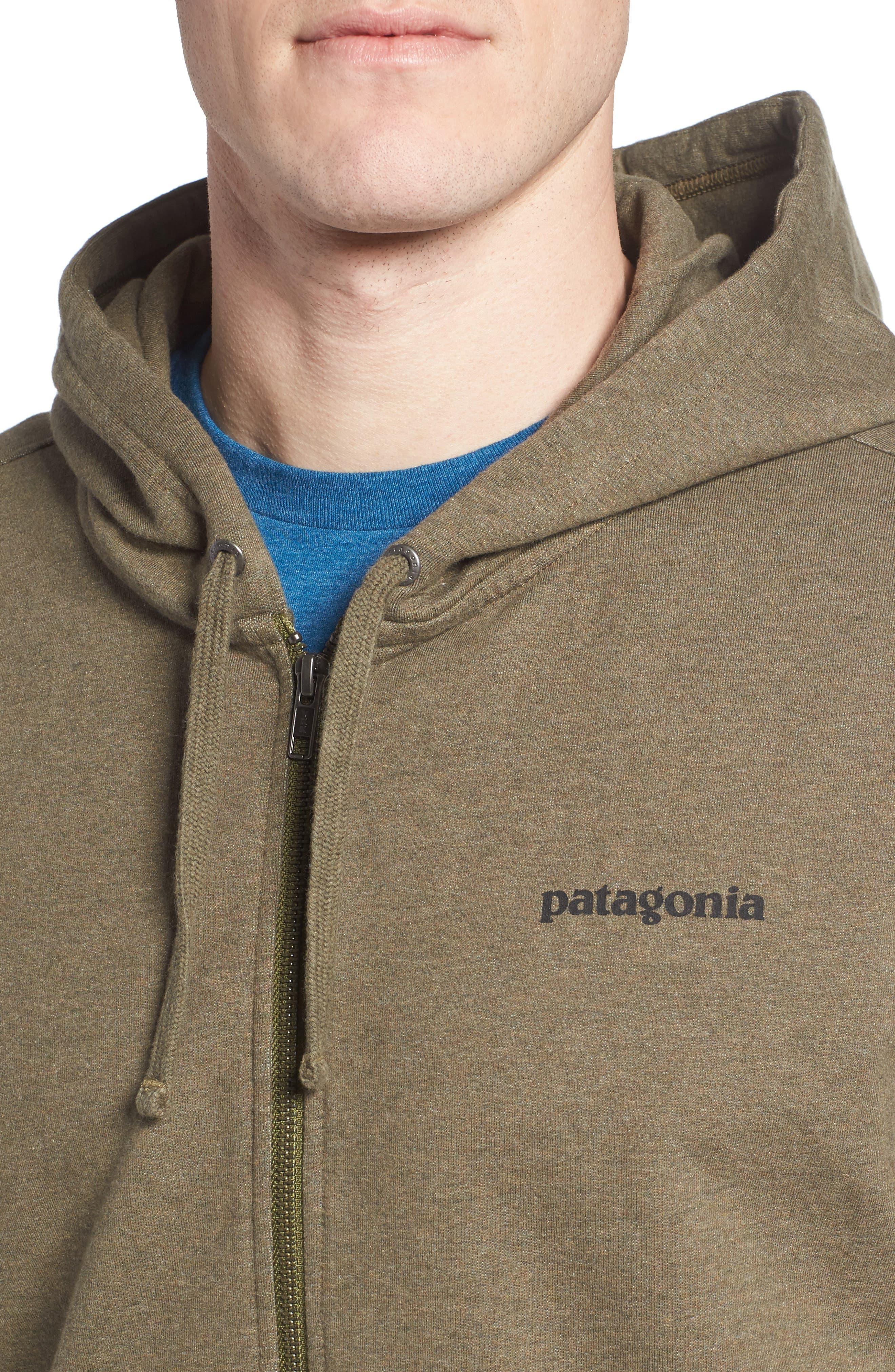 P-6 Logo Modern Fit Zip Hoodie,                             Alternate thumbnail 12, color,