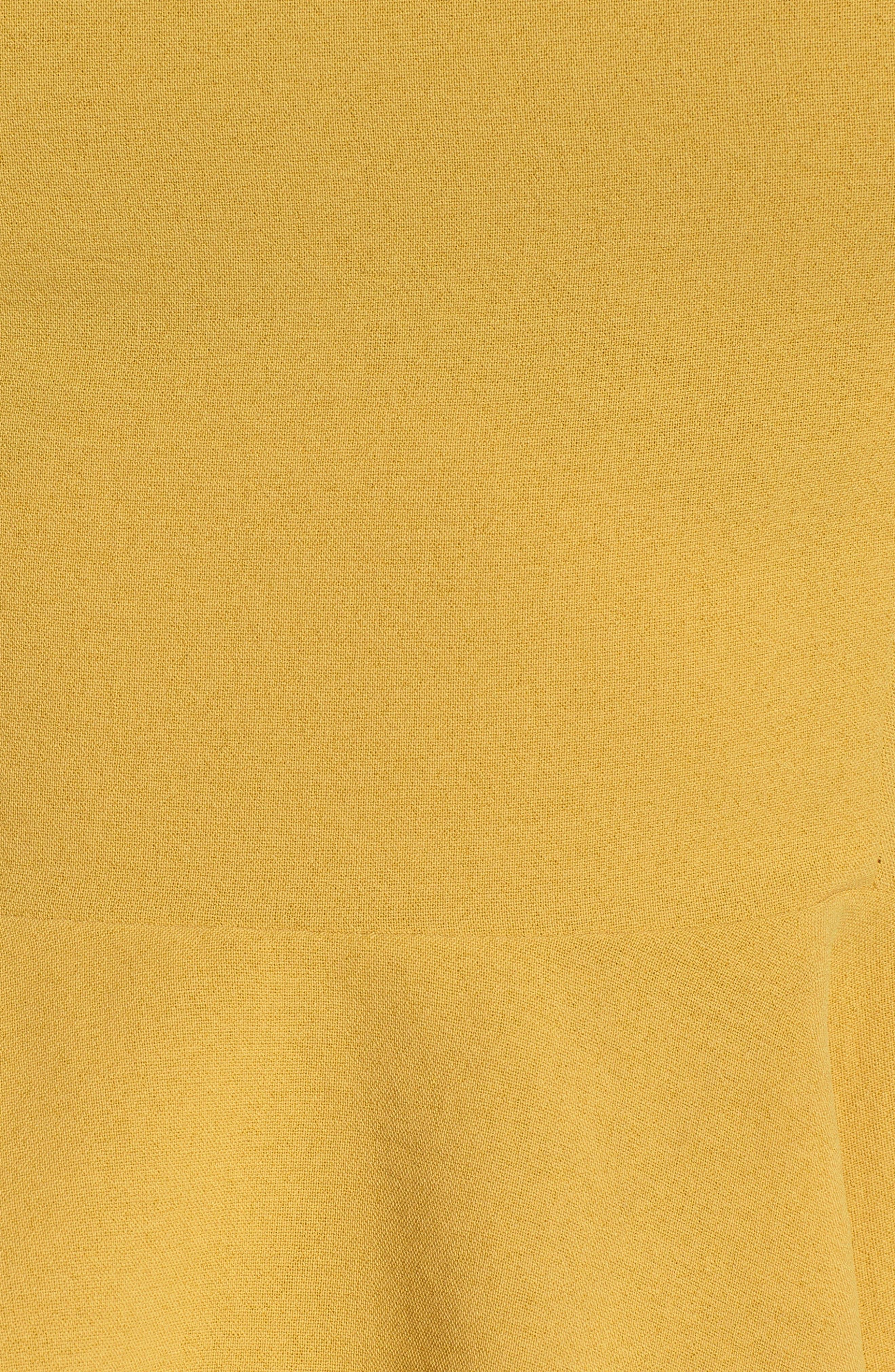 Chriselle x J.O.A. Asymmetrical Peplum Top,                             Alternate thumbnail 5, color,                             700