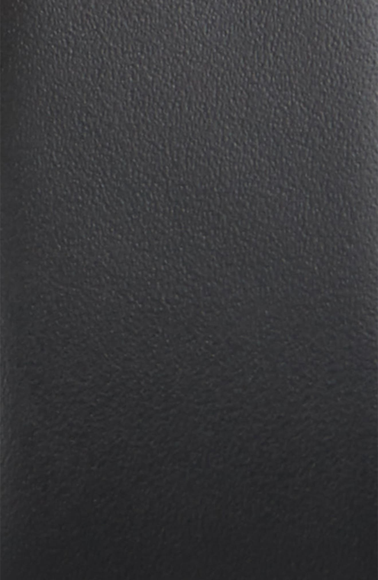 VERSACE,                             Medusa Head Leather Belt,                             Alternate thumbnail 2, color,                             BLACK/GOLD