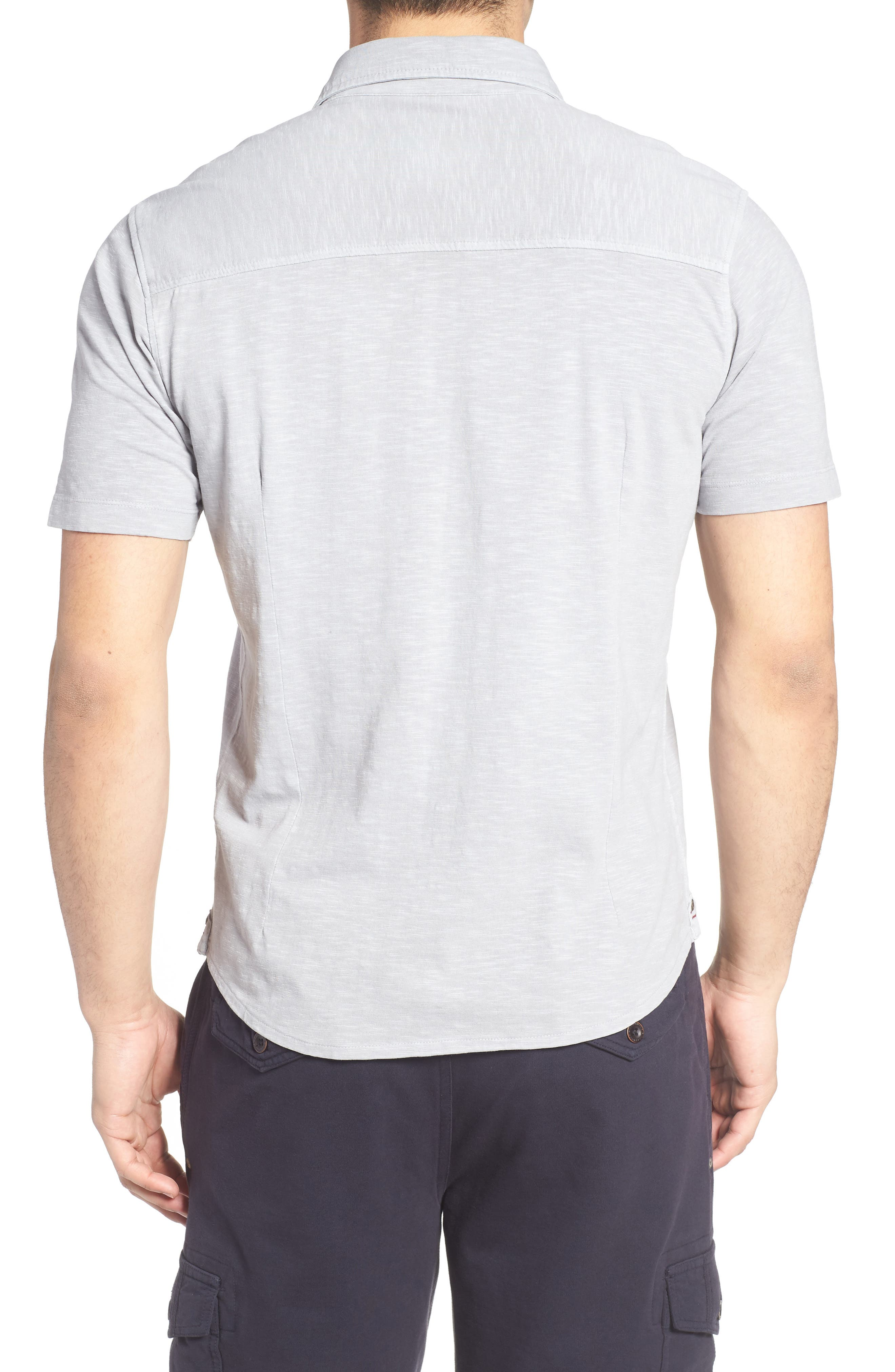 McAdams Slub Jersey Sport Shirt,                             Alternate thumbnail 2, color,                             020