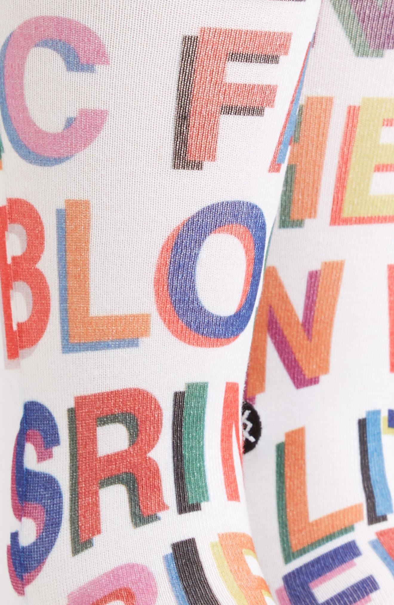 Love Letters Crew Socks,                             Alternate thumbnail 2, color,                             100
