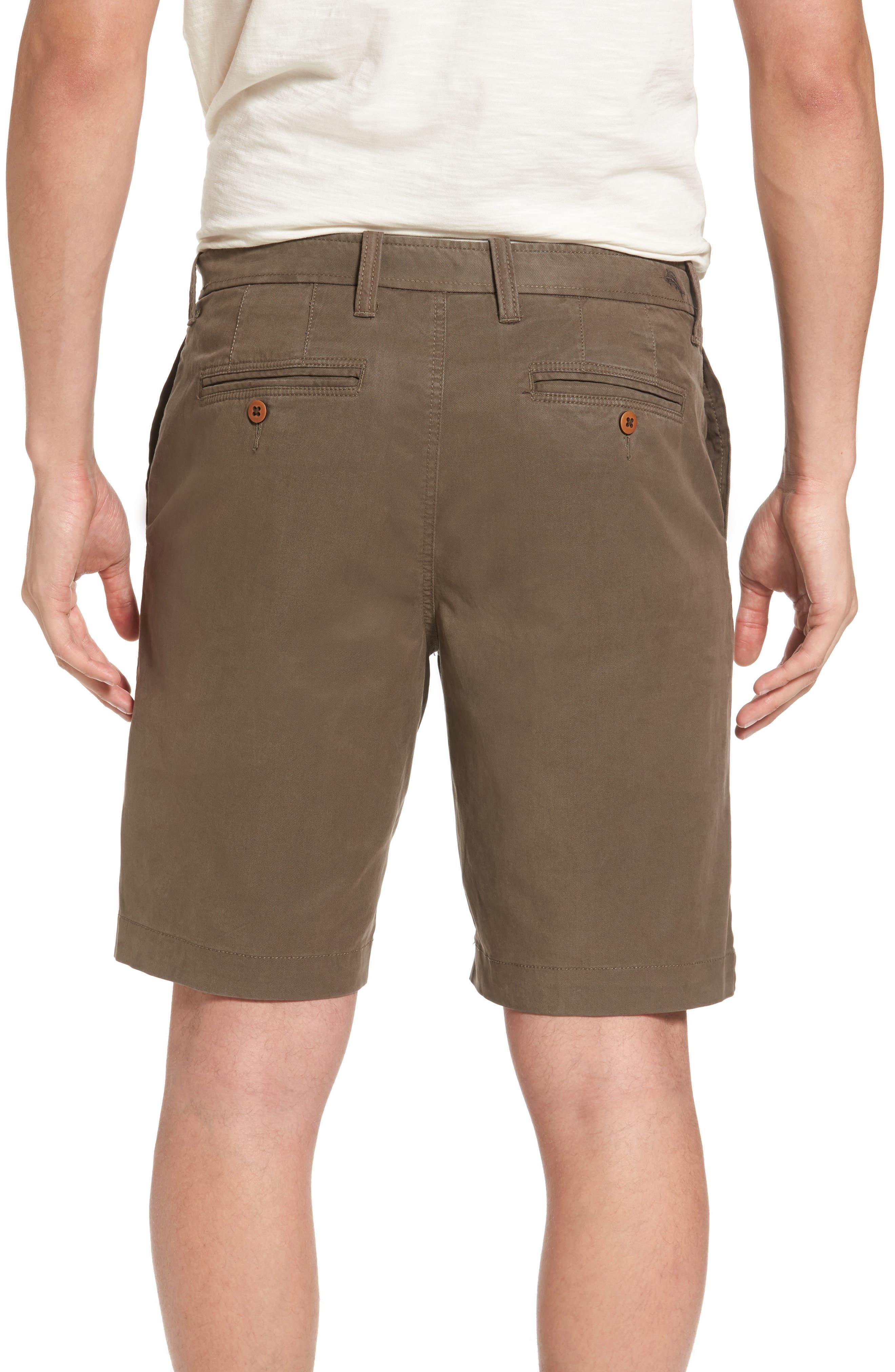 'Offshore' Flat Front Shorts,                             Alternate thumbnail 16, color,