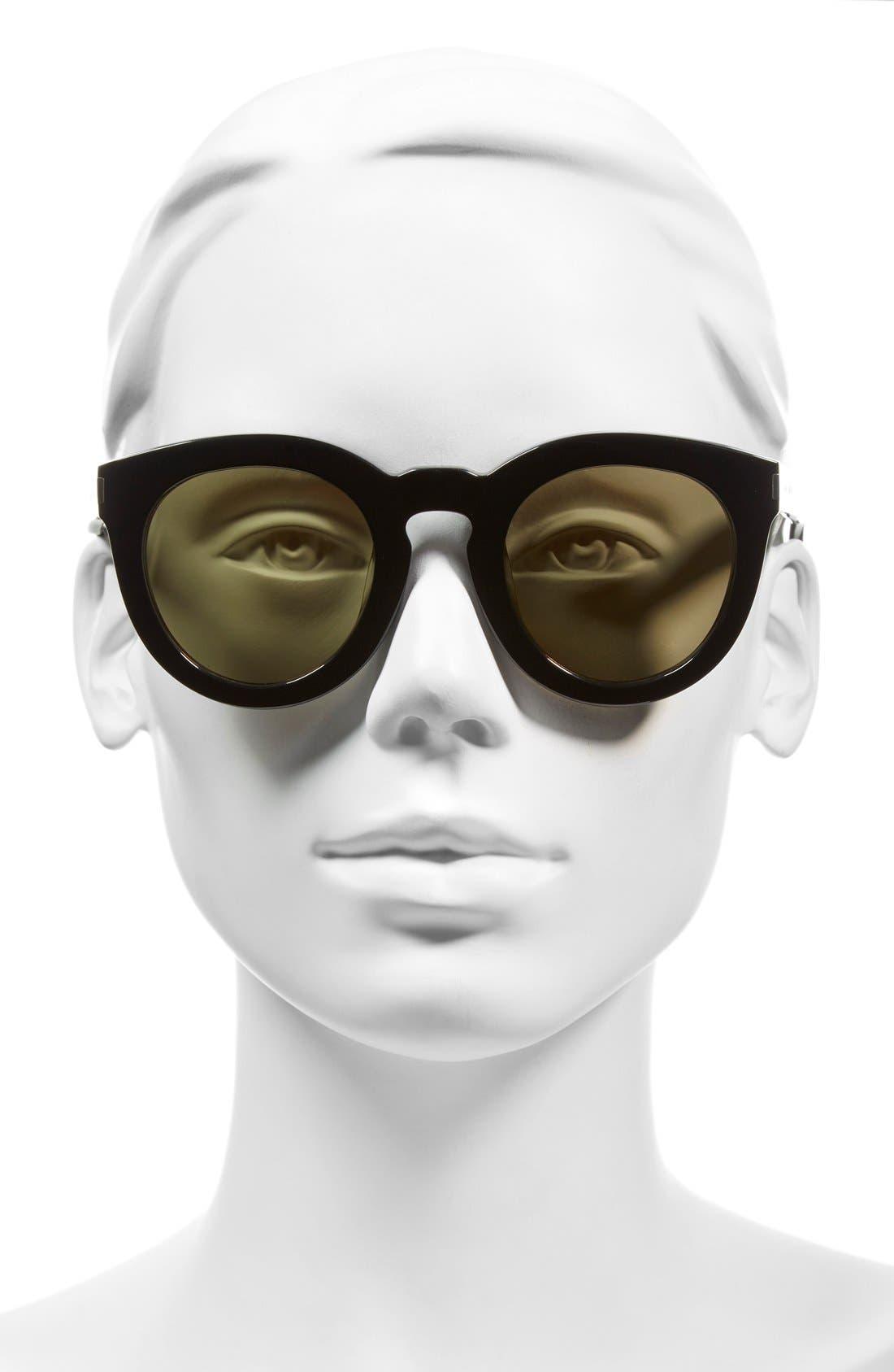 '102 Surf' 47mm Retro Sunglasses,                             Alternate thumbnail 5, color,