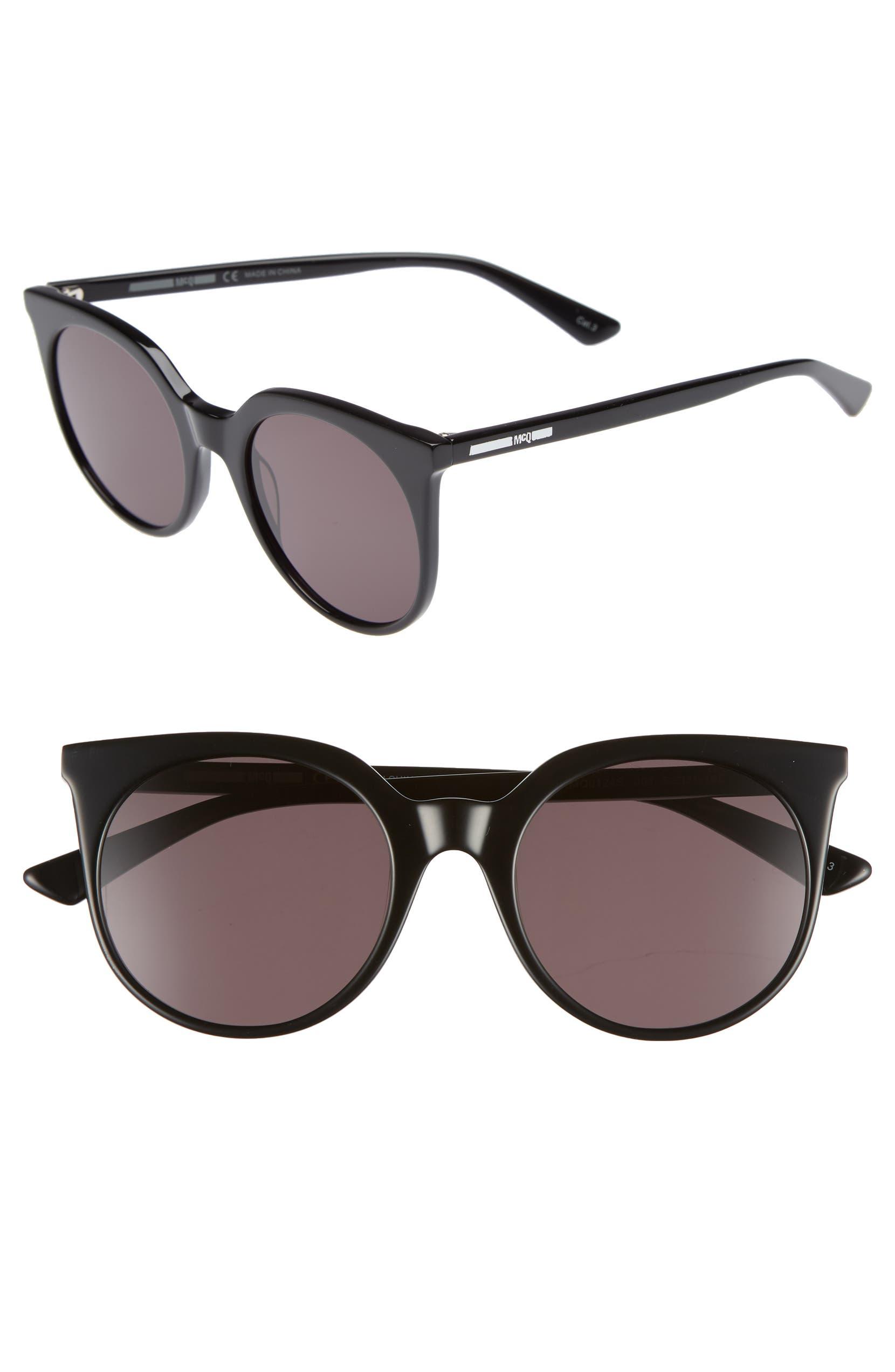 8d07072fad McQ Alexander McQueen 52mm Cat Eye Sunglasses