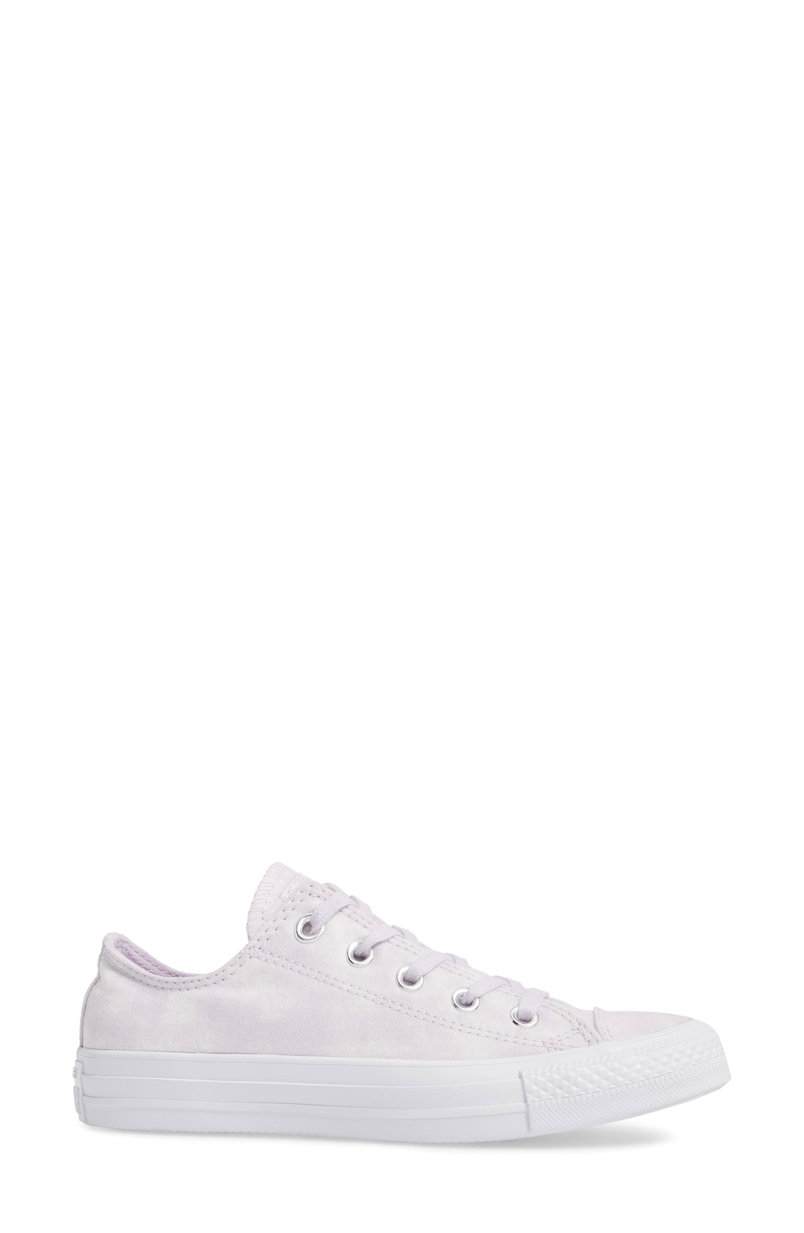 Chuck Taylor<sup>®</sup> All Star<sup>®</sup> Peached Low Top Sneaker,                             Alternate thumbnail 6, color,