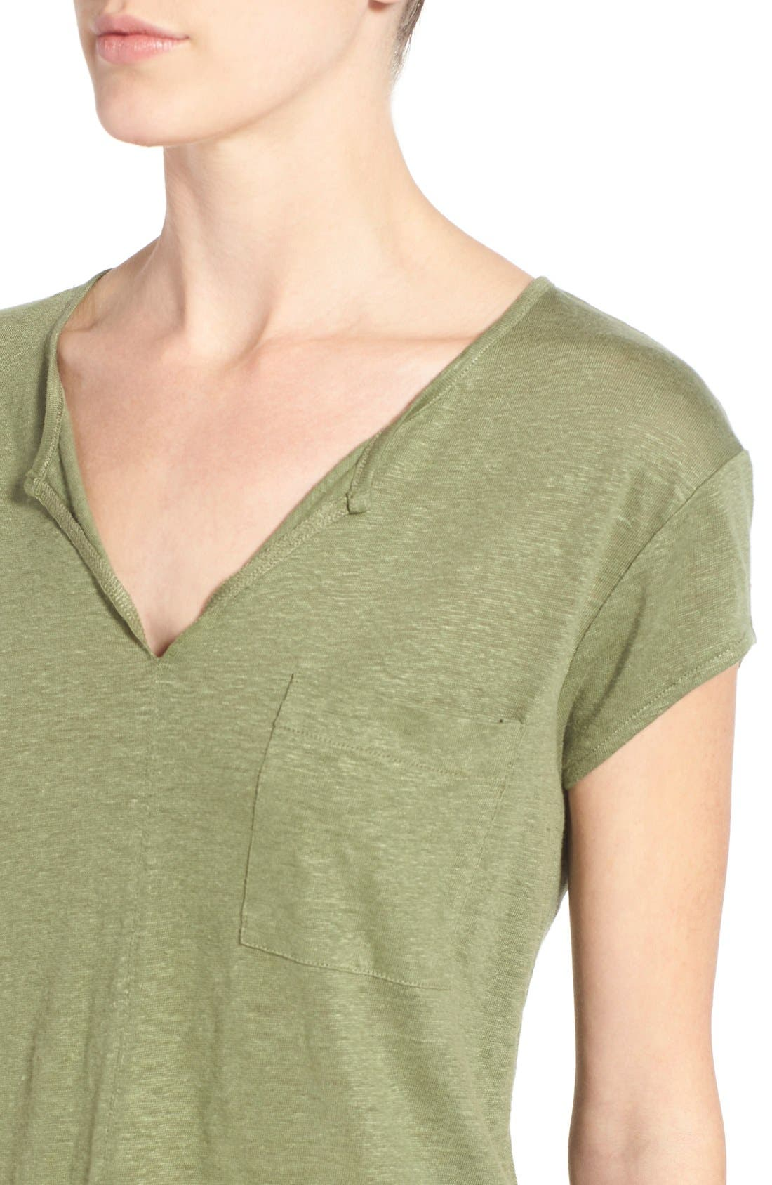 City Mix Layered Look Tee,                             Alternate thumbnail 70, color,