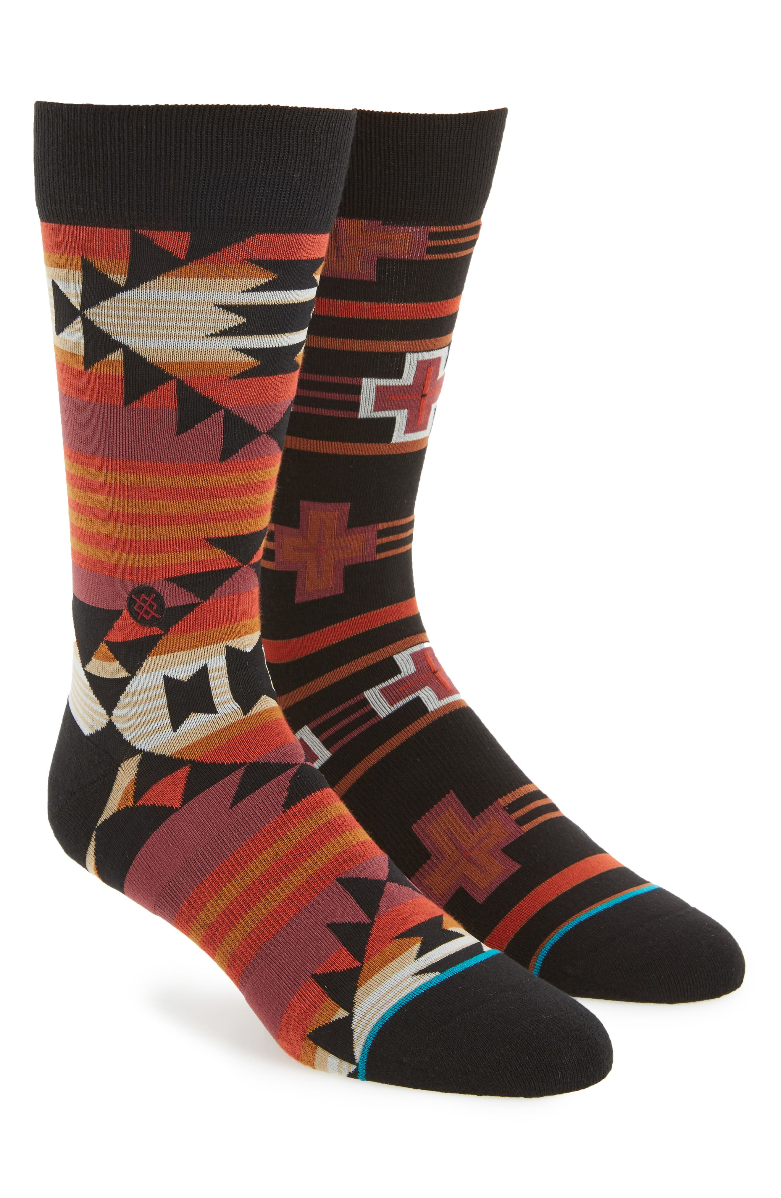 STANCE,                             Guru Socks,                             Main thumbnail 1, color,                             001