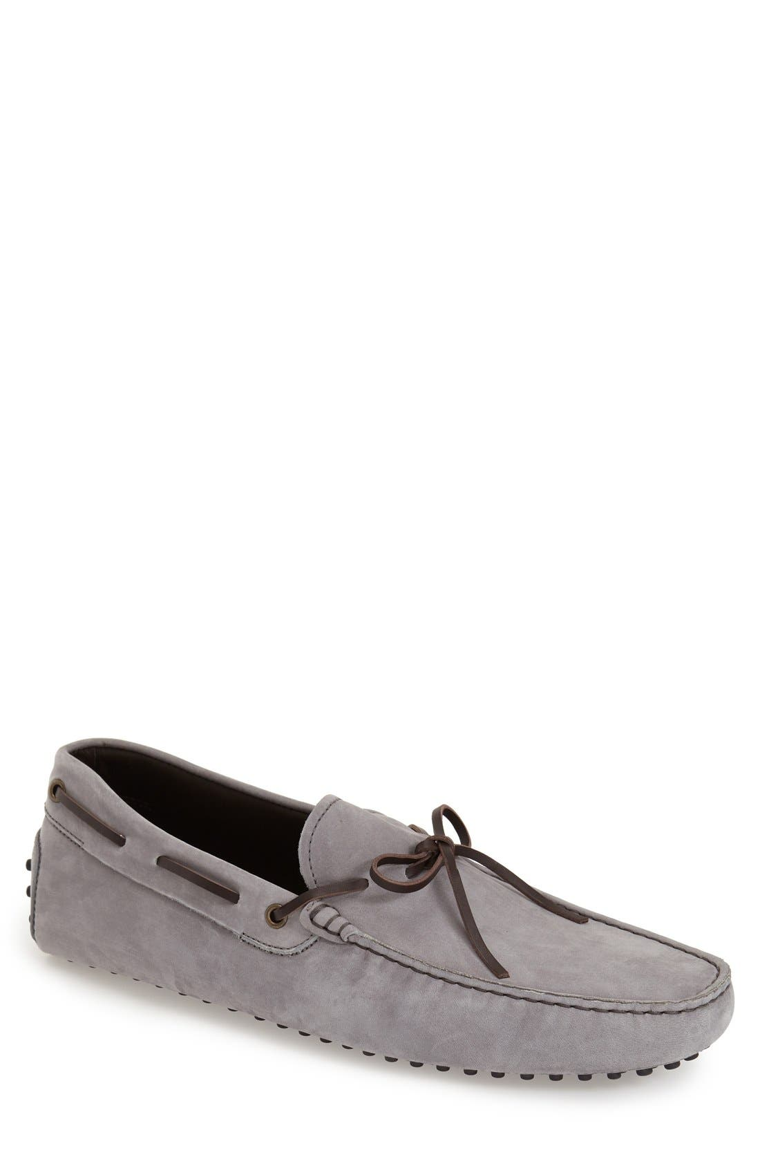 Gommini Tie Front Driving Moccasin,                             Main thumbnail 2, color,