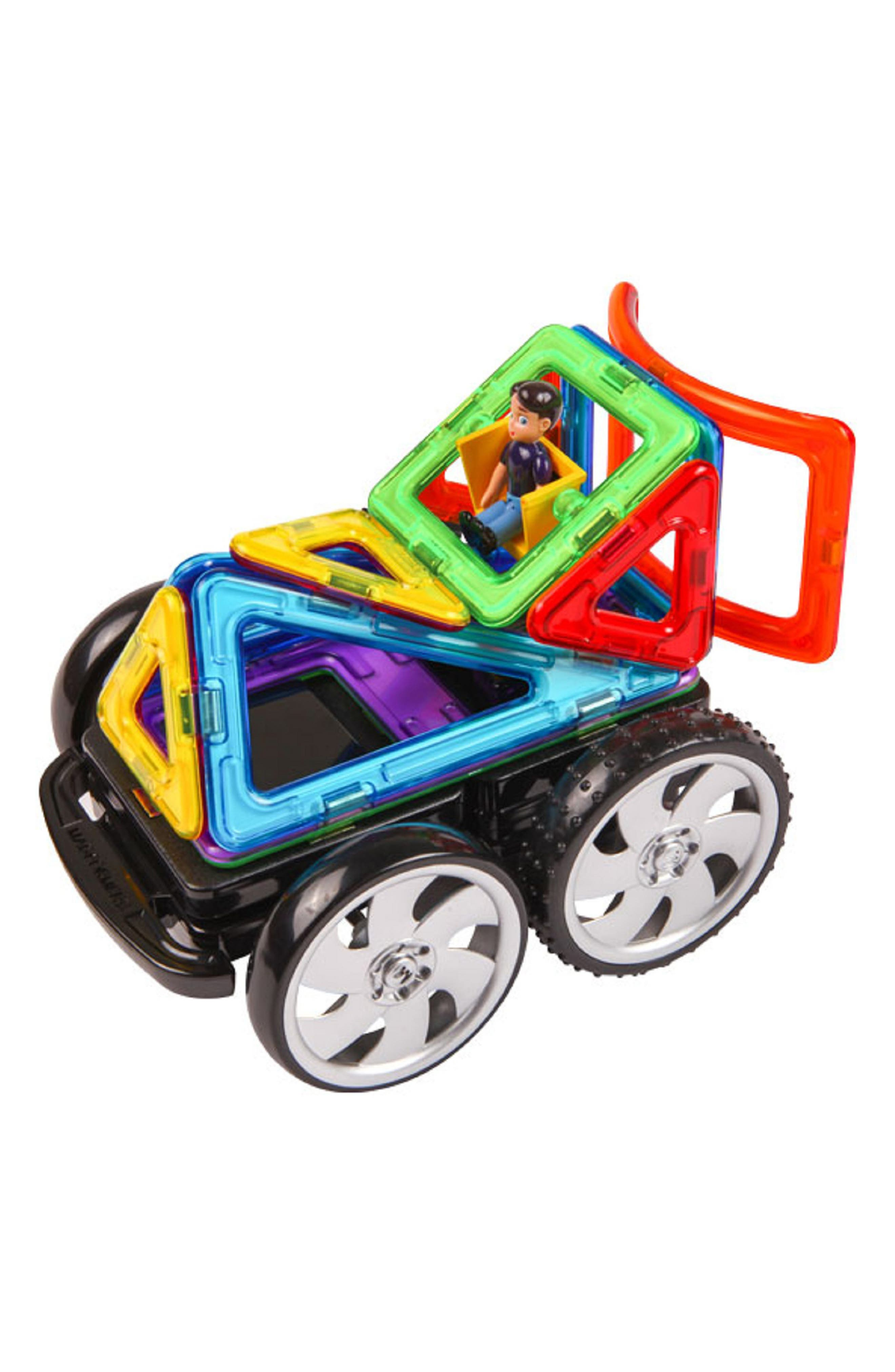 'Racing' Magnetic Remote Control Vehicle Construction Set,                             Alternate thumbnail 2, color,                             Rainbow