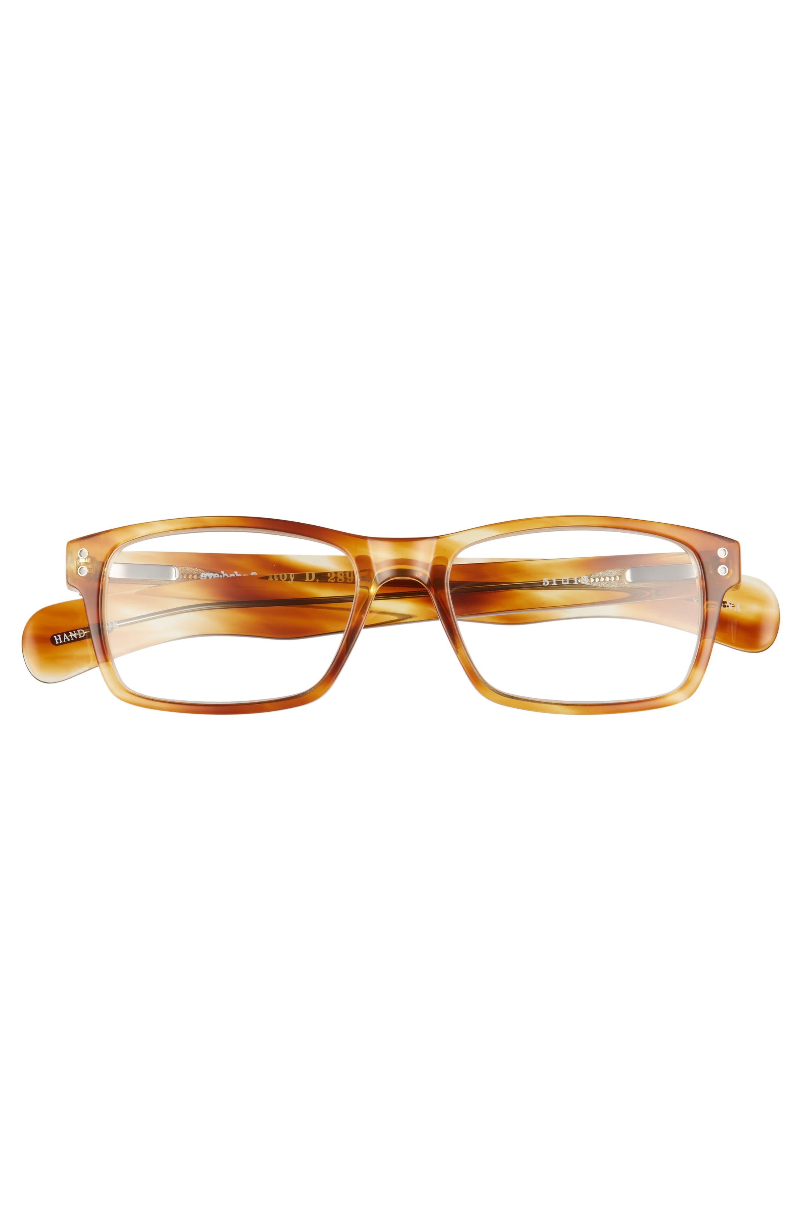Roy D 51mm Reading Glasses,                             Alternate thumbnail 2, color,                             LIGHT TORTOISE