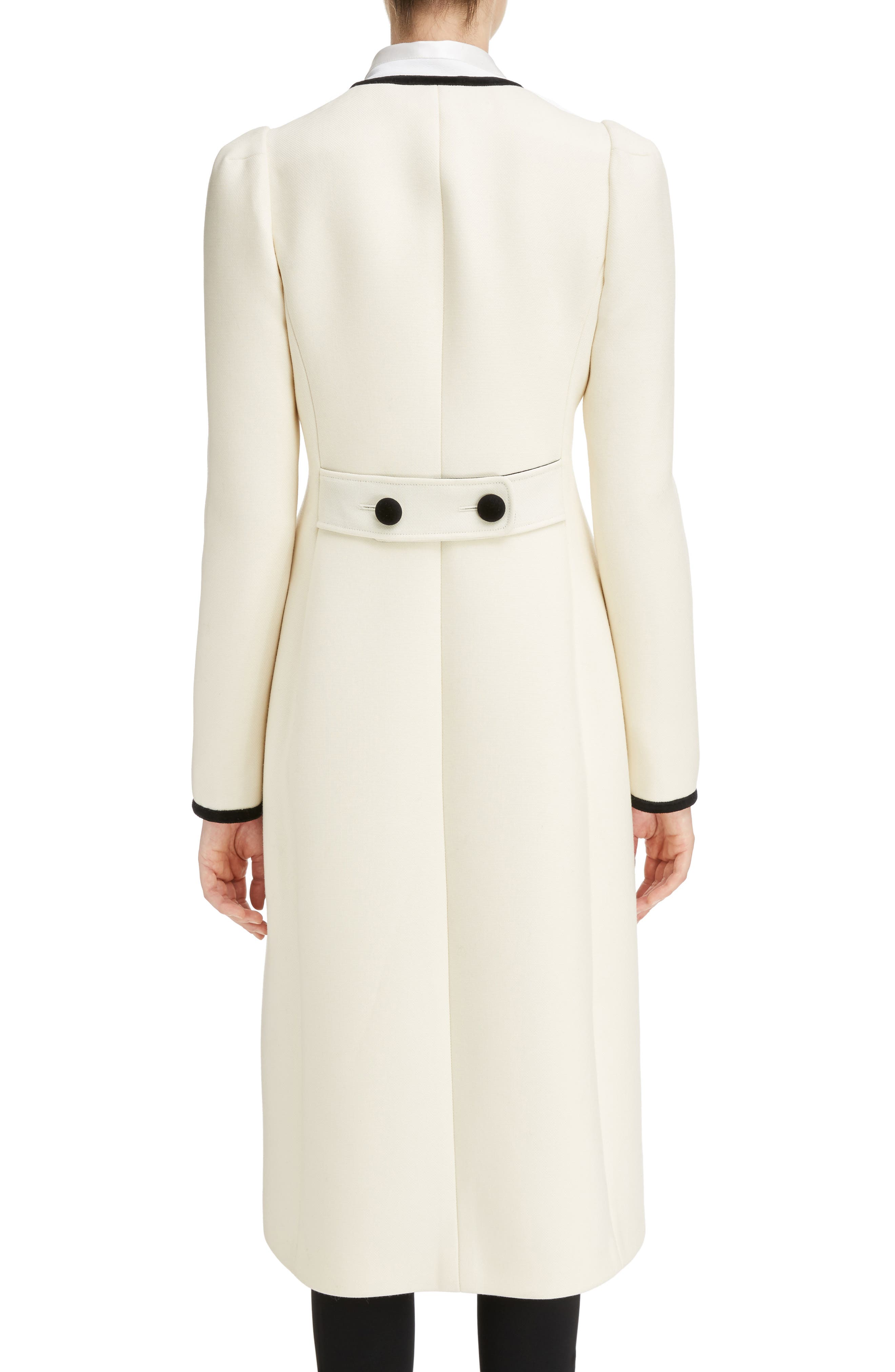 Bellasio Double Breasted Wool Coat,                             Alternate thumbnail 2, color,