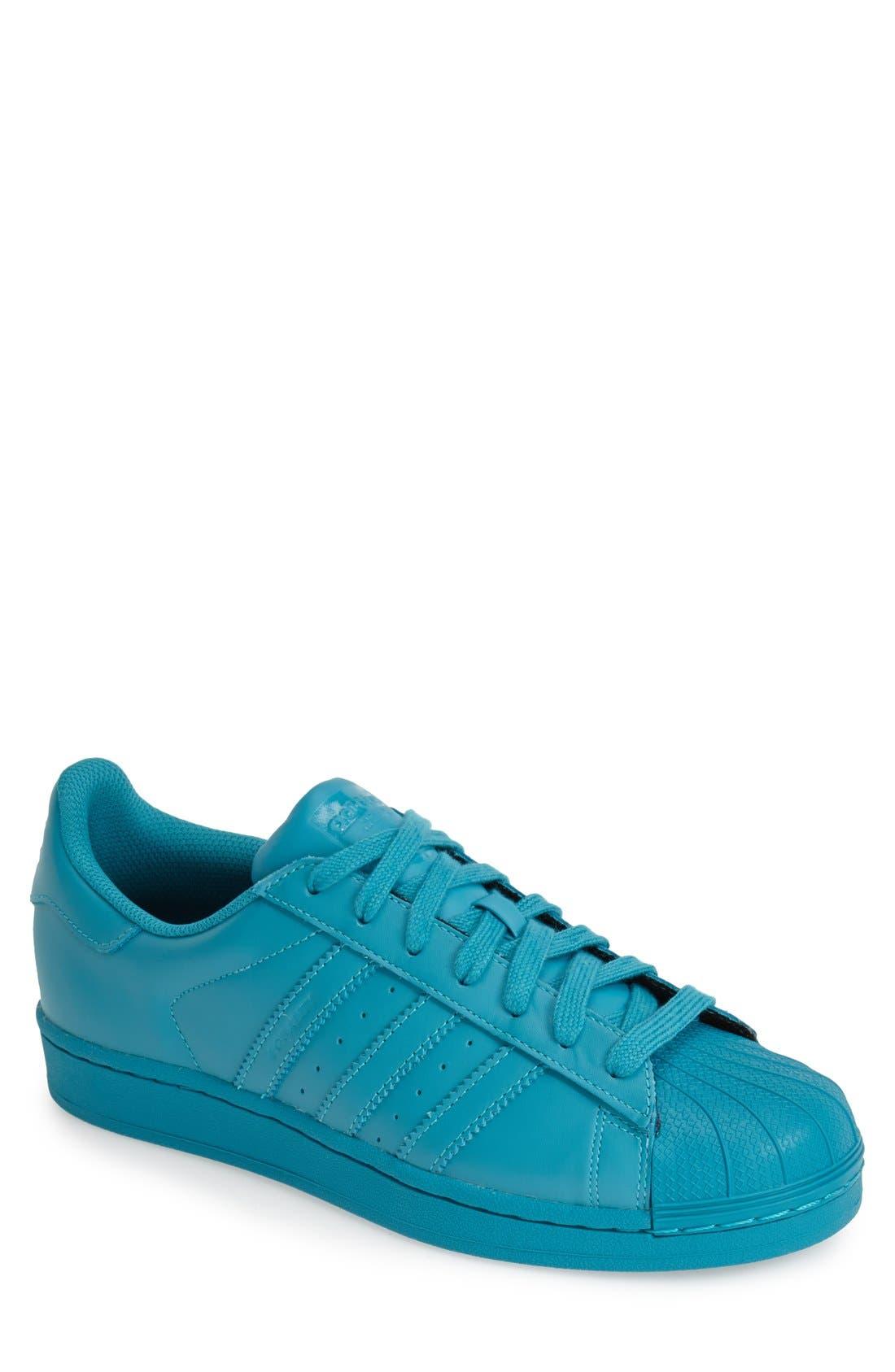 'Pharrell Williams - Superstar Supercolor' Sneaker,                             Main thumbnail 1, color,                             300
