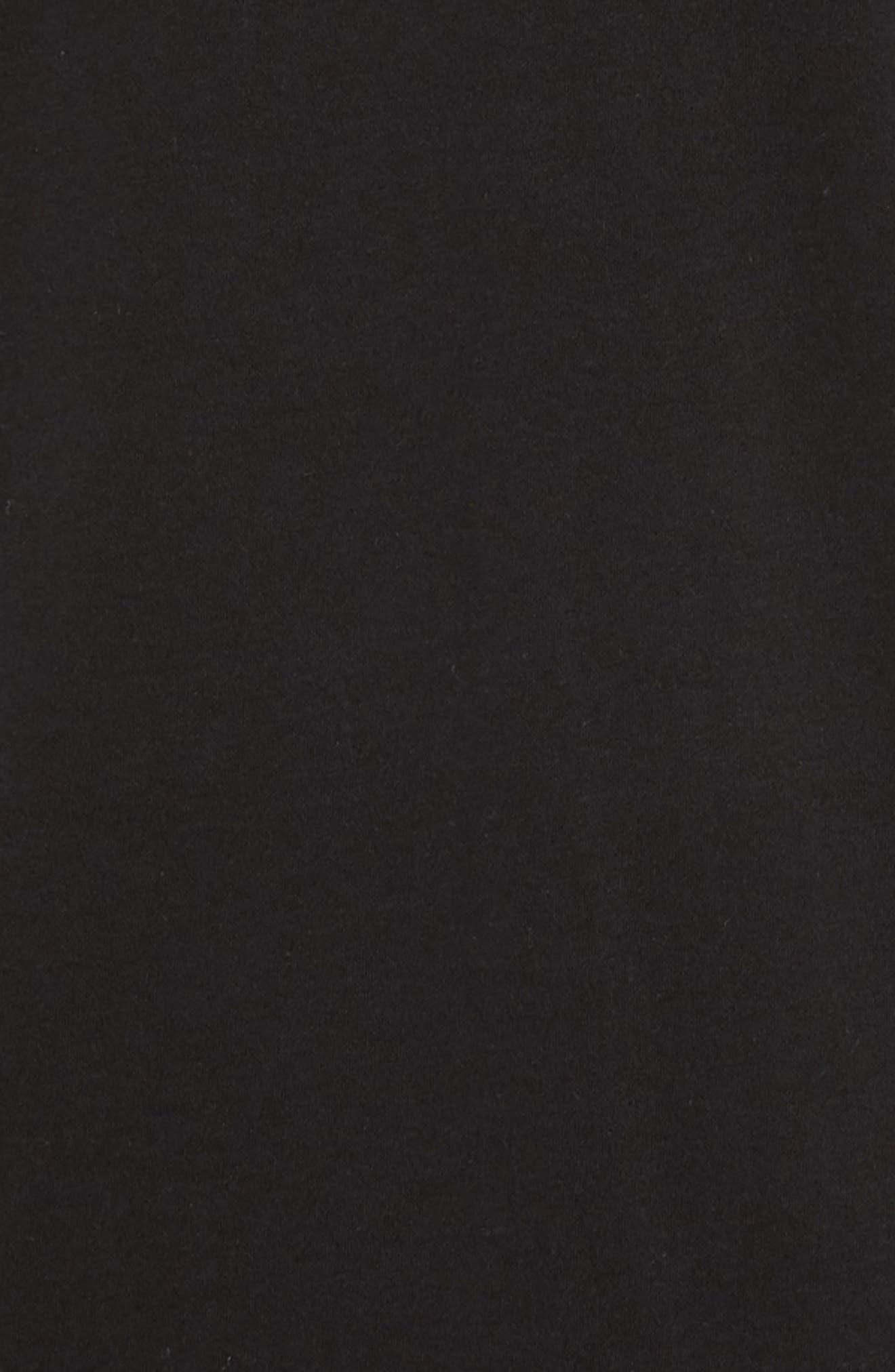 Rupert Short Sleeve Regular Fit Polo Shirt,                             Alternate thumbnail 5, color,                             BLACK