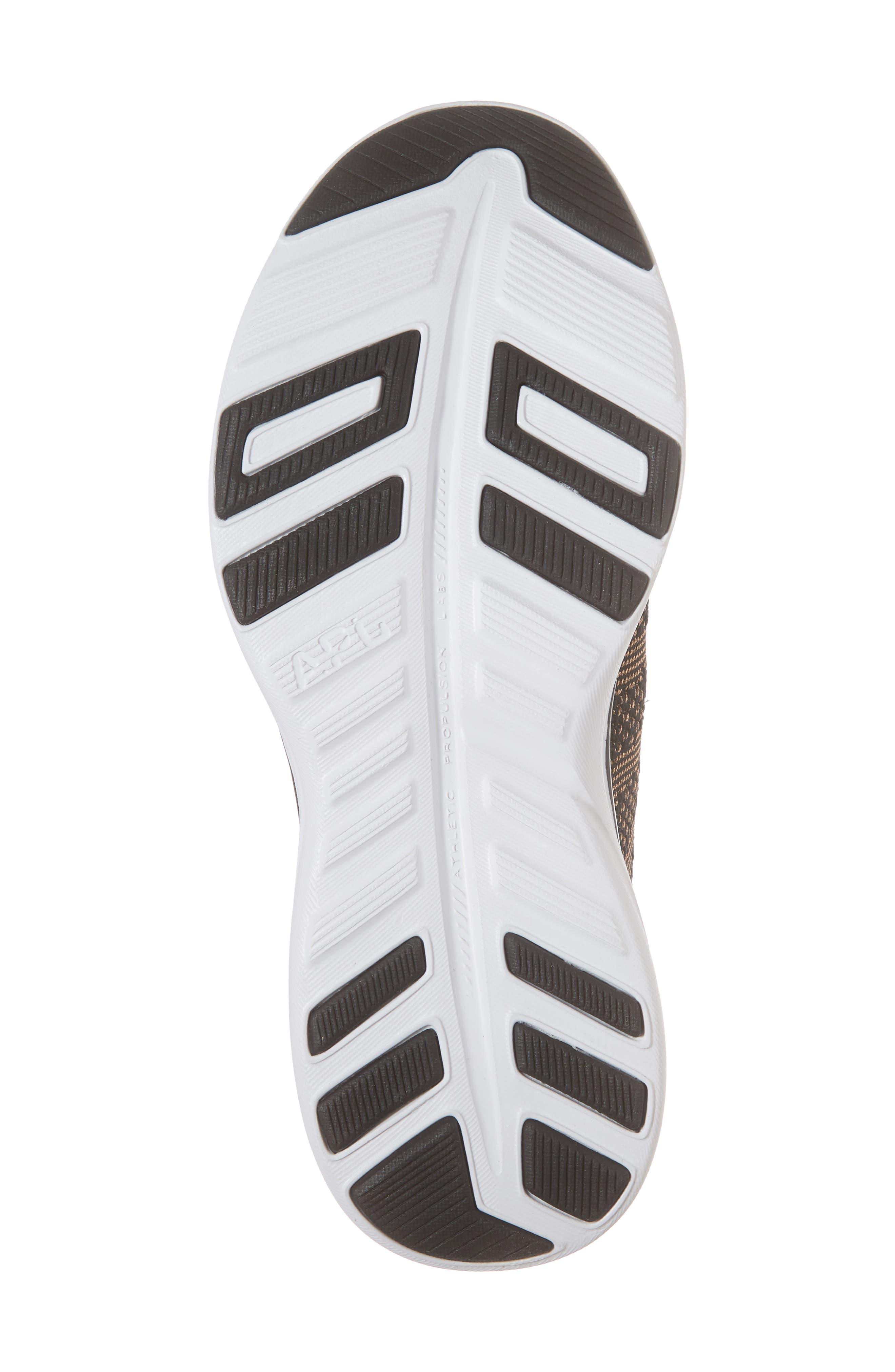 'Techloom Pro' Running Shoe,                             Alternate thumbnail 6, color,                             BLACK/ ROSE GOLD