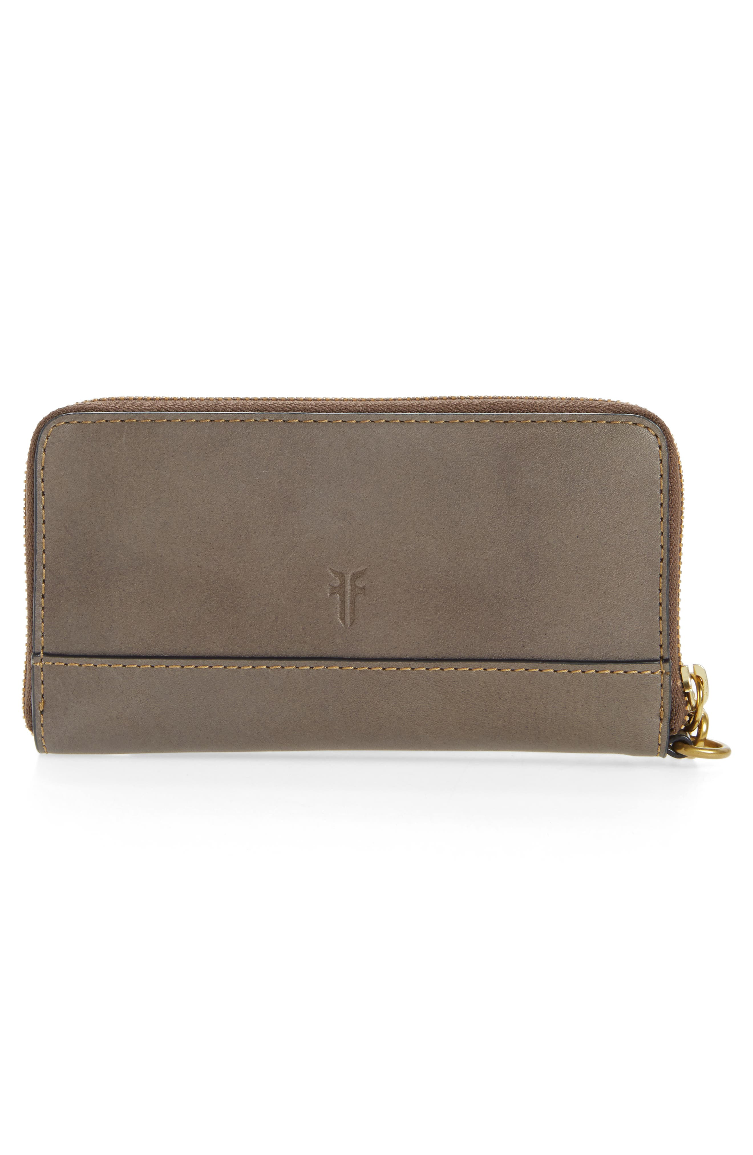 Ilana Harness Phone Leather Zip Wallet,                             Alternate thumbnail 5, color,