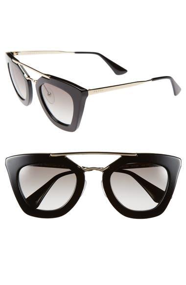 29295cac02e9 Prada 49mm Retro Sunglasses