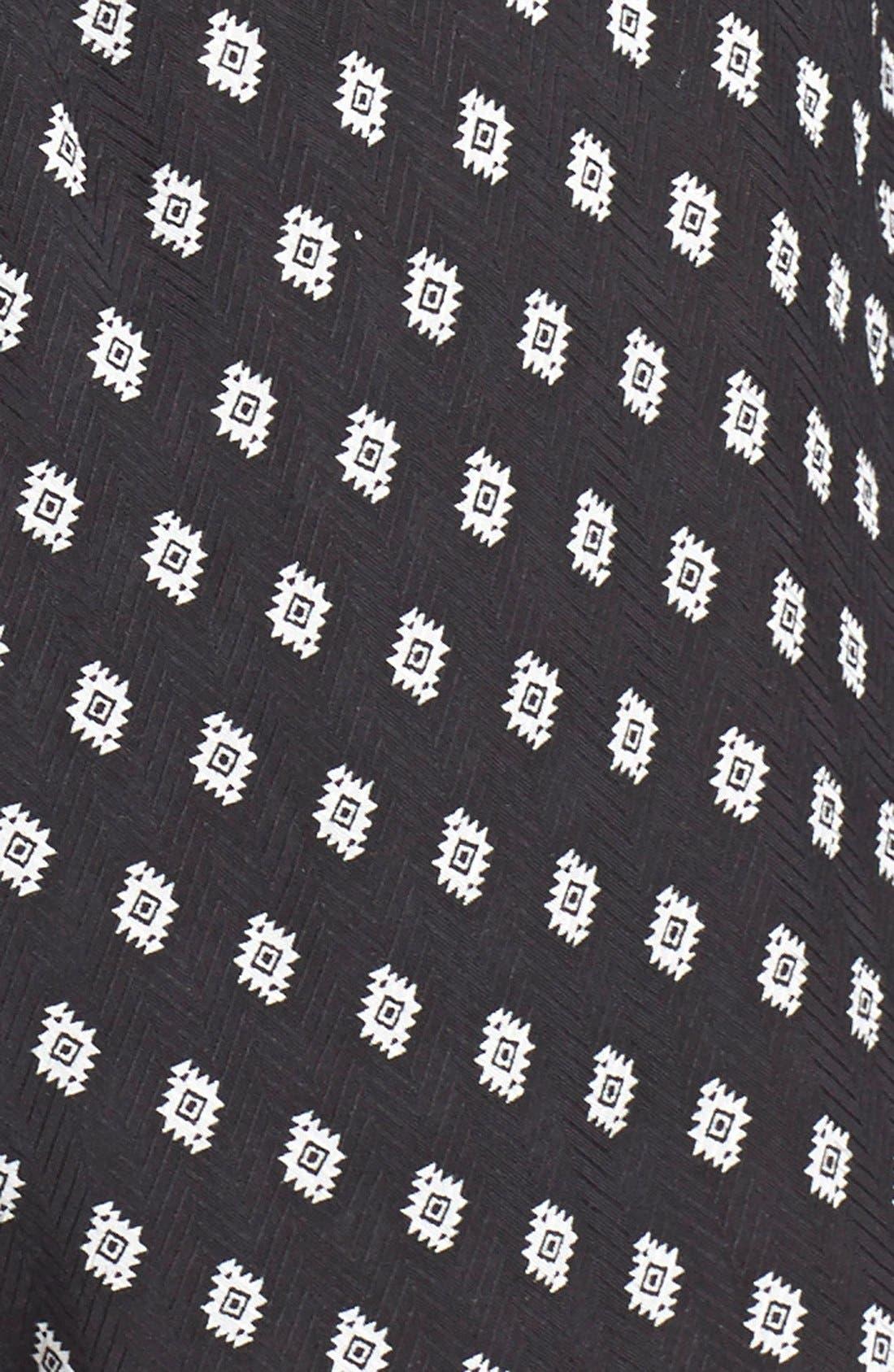Print Tie Neck Romper,                             Alternate thumbnail 2, color,                             005