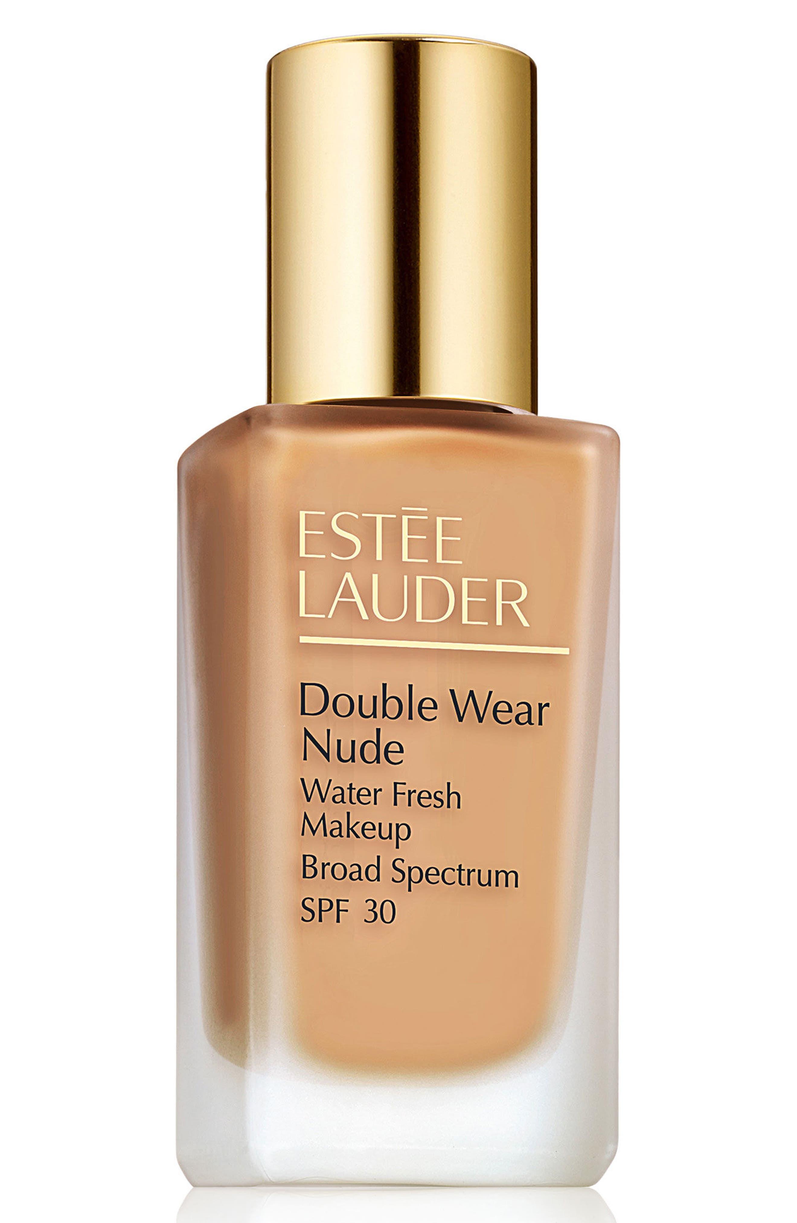 Estee Lauder Double Wear Nude Water Fresh Makeup Broad Spectrum Spf 30 - 3W1 Tawny