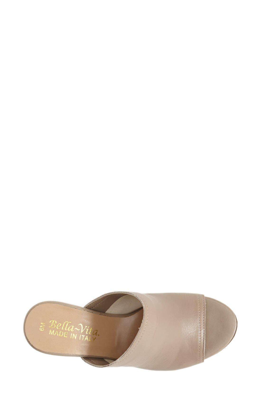 'Arno' Leather Mule,                             Alternate thumbnail 8, color,