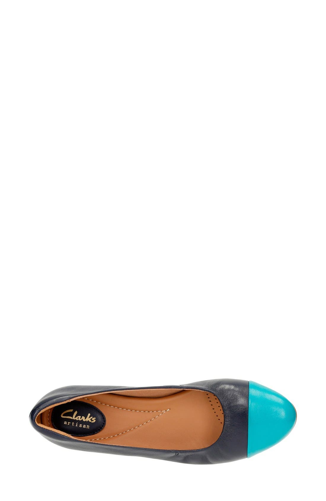 'Alitay Susan' Cap Toe Flat,                             Alternate thumbnail 16, color,