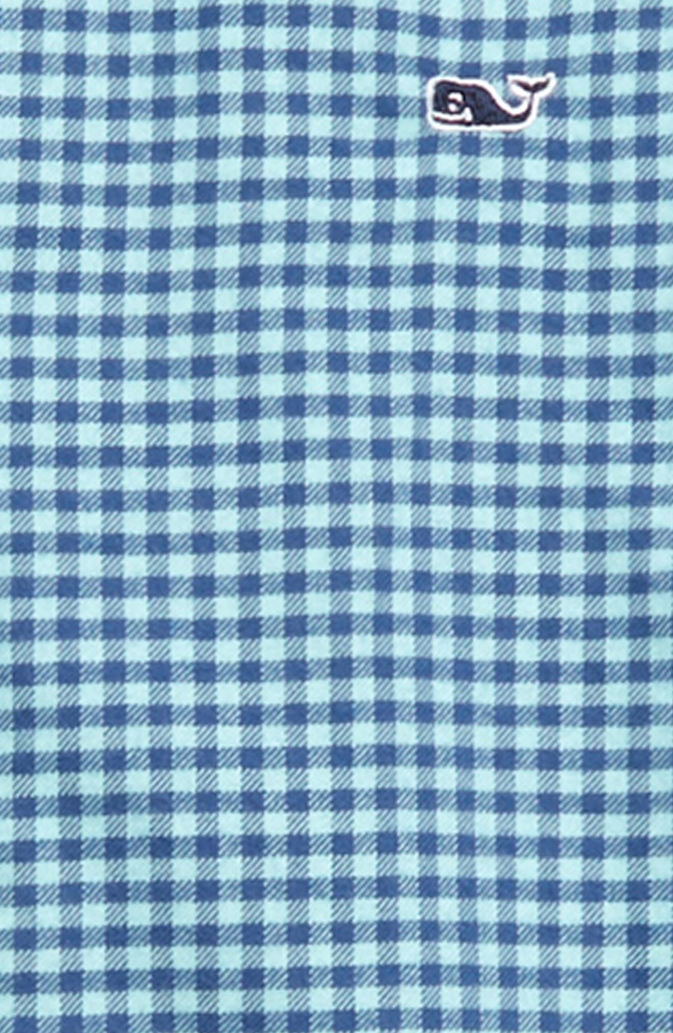 Tradewinds Flannel Whale Shirt,                             Alternate thumbnail 2, color,                             POOL SIDE