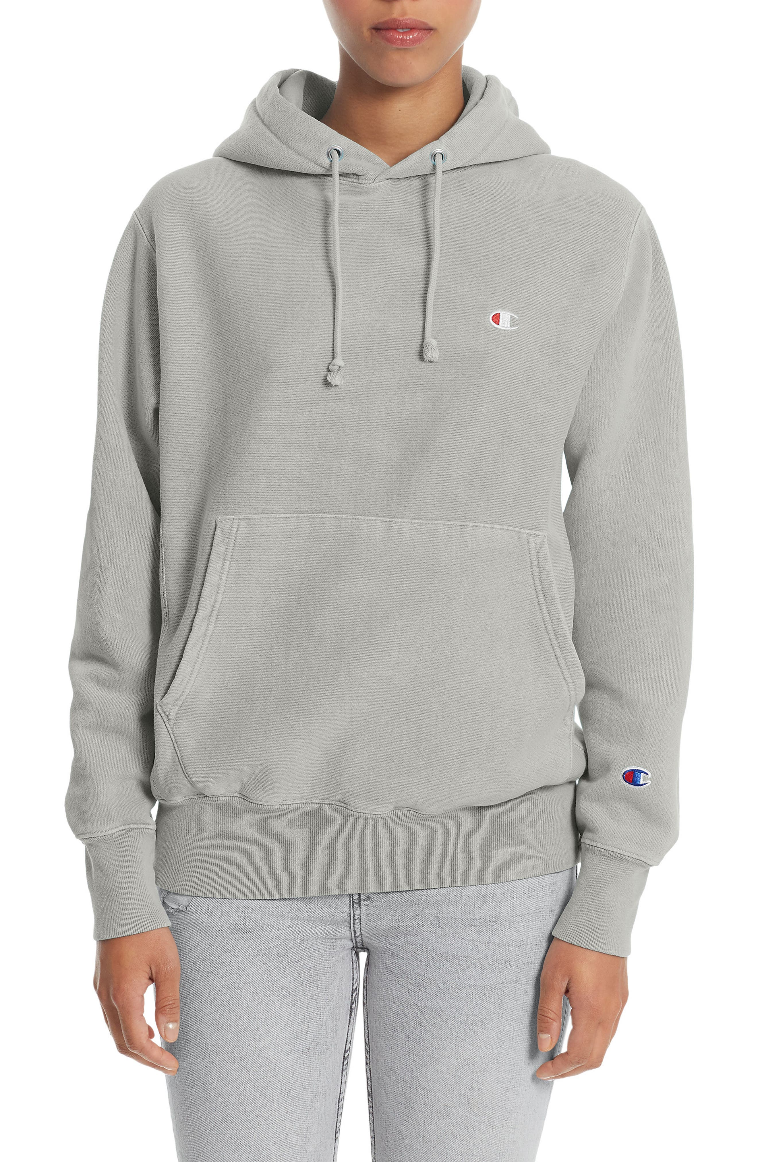 Reverse Weave<sup>®</sup> Pullover Hoodie,                         Main,                         color, 020