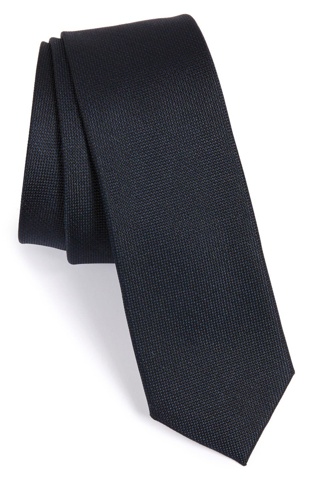 Woven Silk Tie,                         Main,                         color, 410