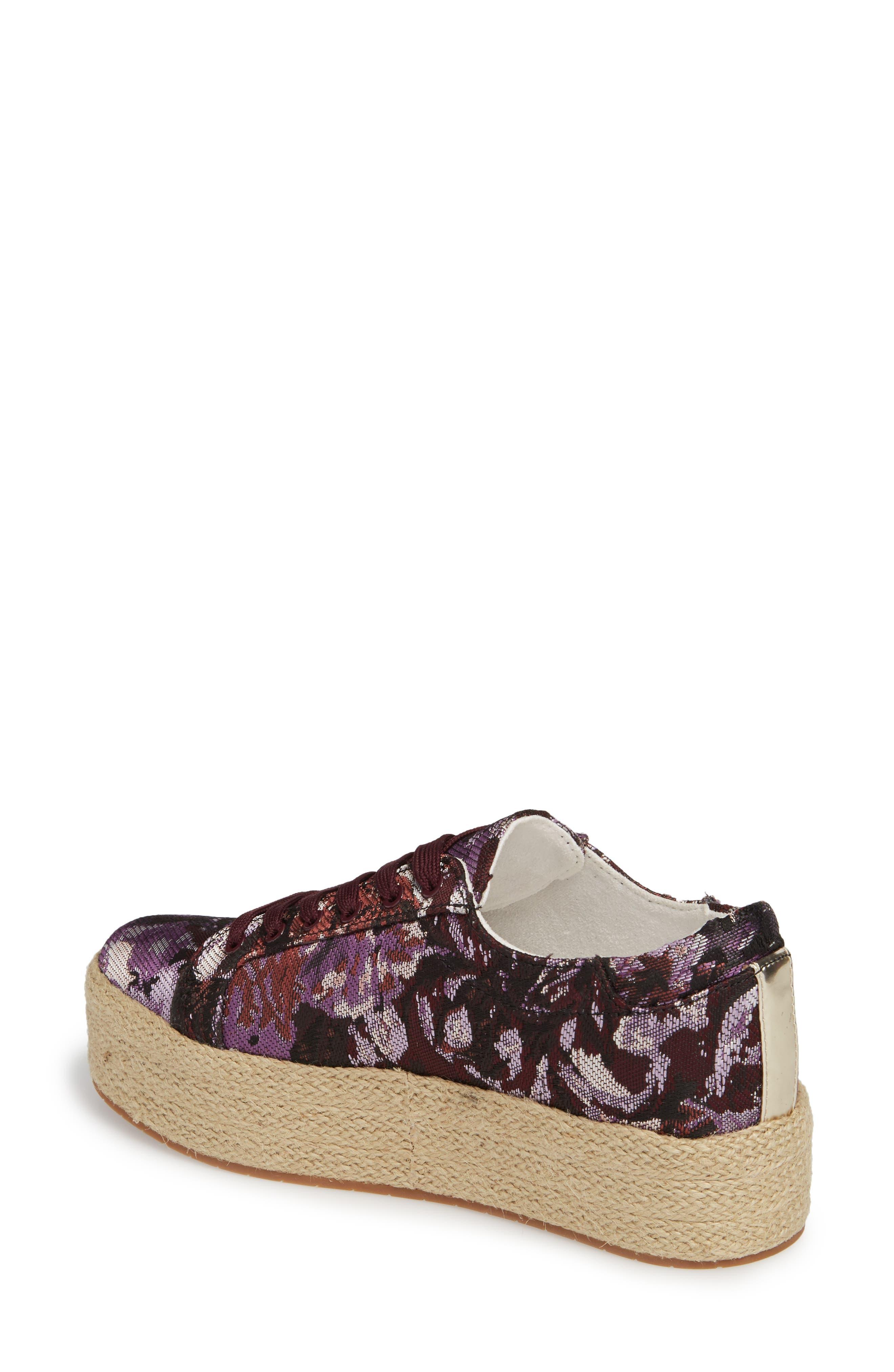 Allyson Espadrille Platform Sneaker,                             Alternate thumbnail 8, color,