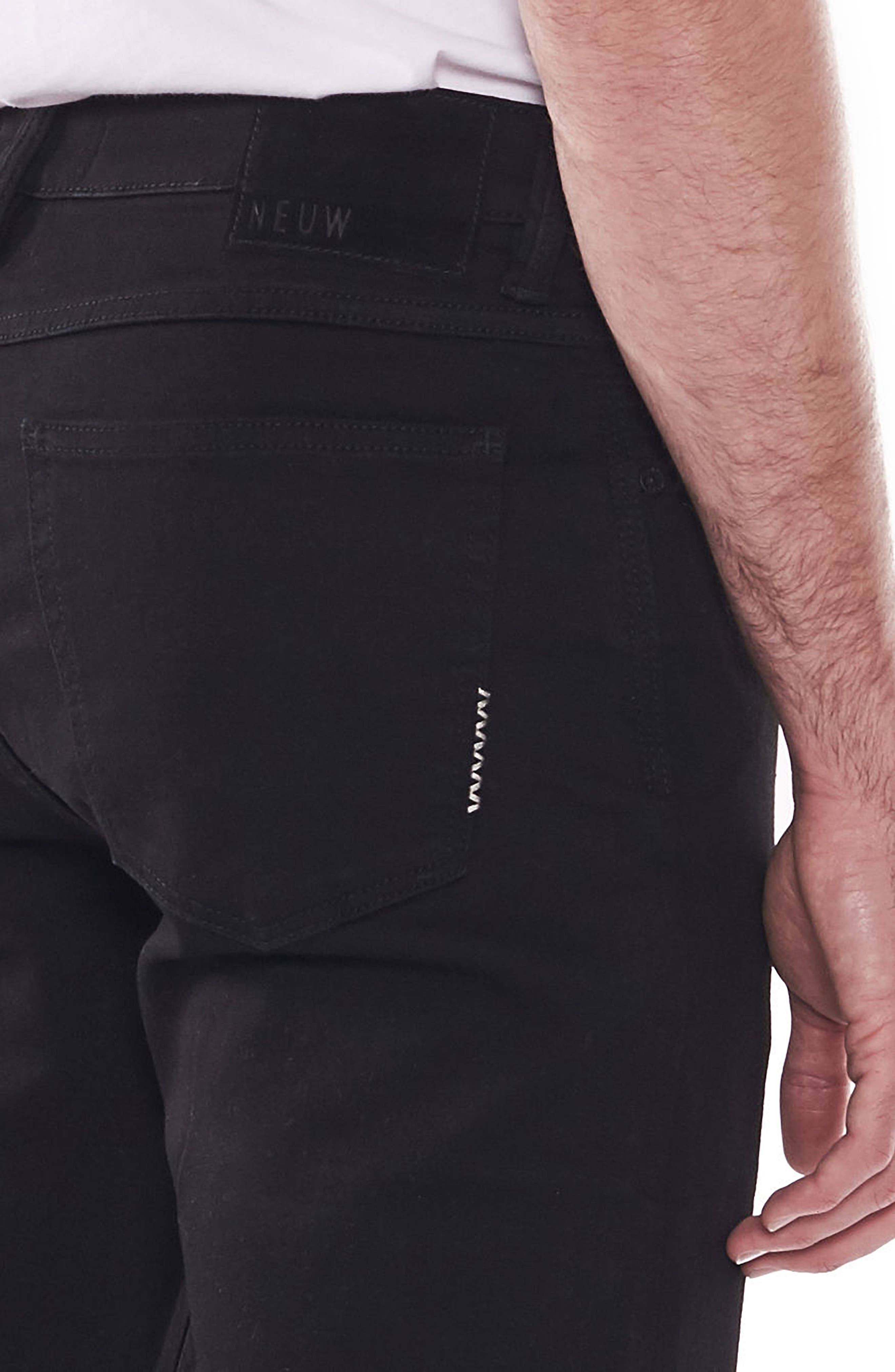 Iggy Skinny Fit Jeans,                             Alternate thumbnail 4, color,                             PERFECTO
