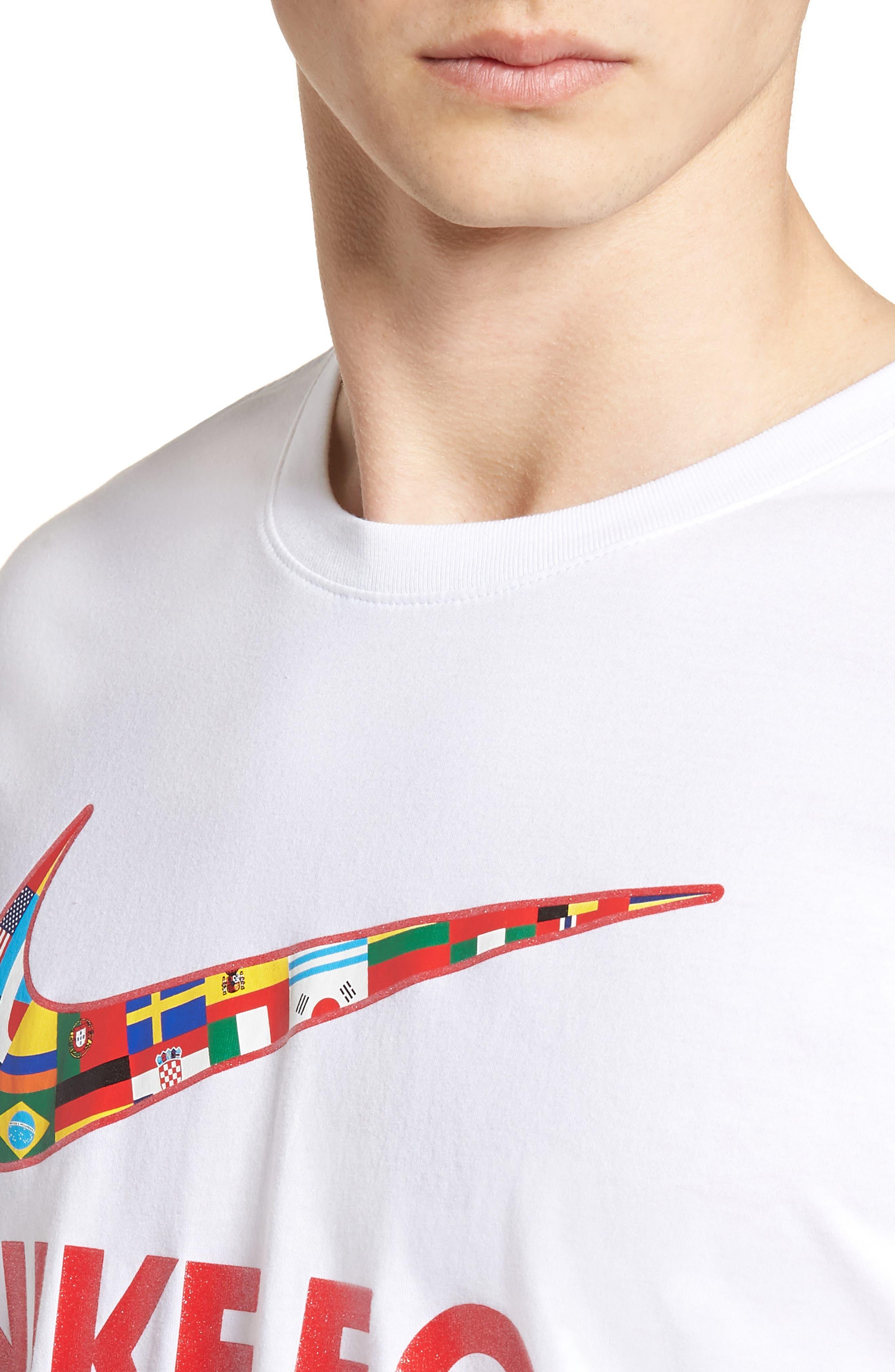 F.C. Swoosh Flag Graphic T-Shirt,                             Alternate thumbnail 8, color,