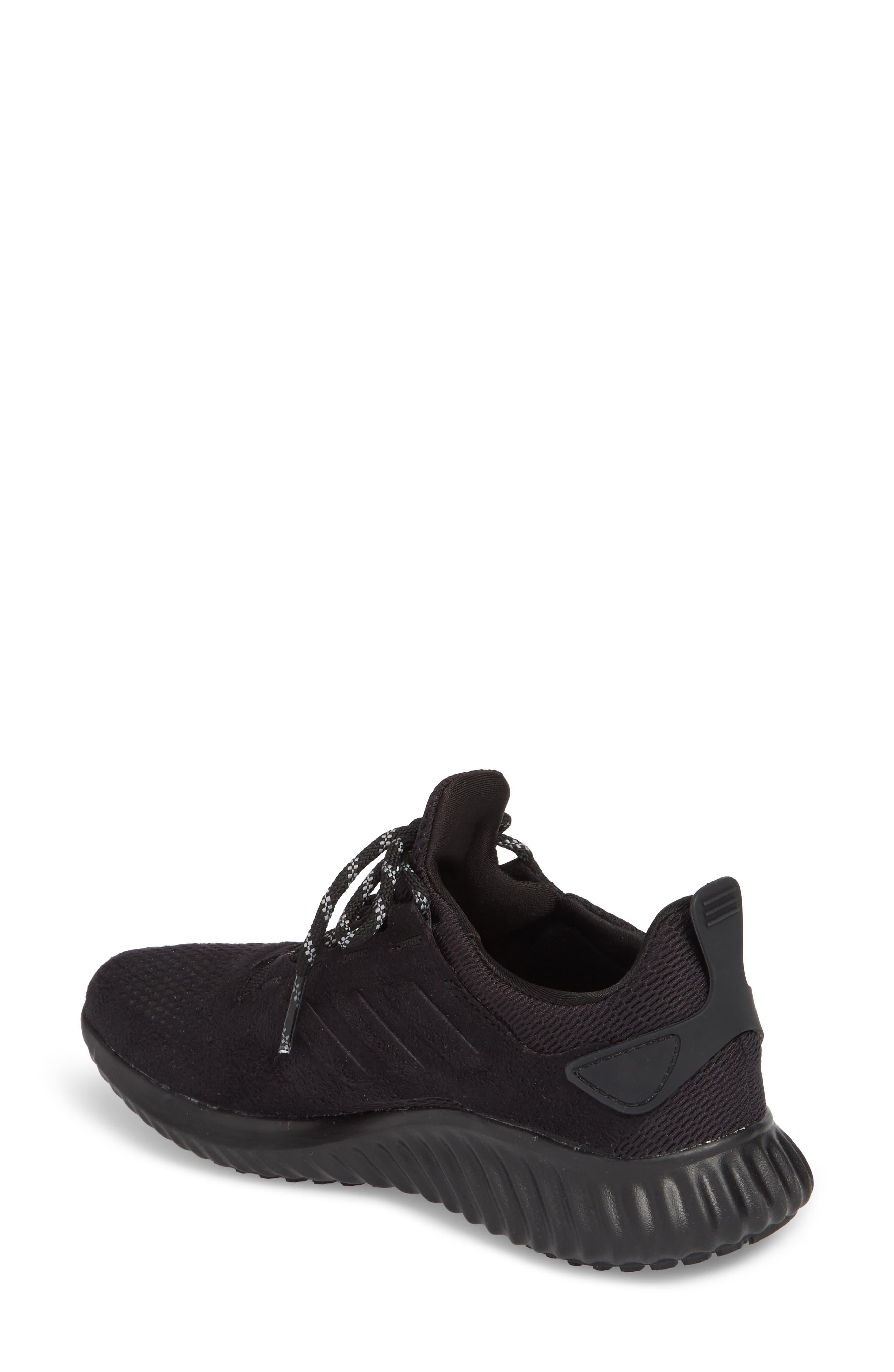AlphaBounce CR Running Shoe,                             Alternate thumbnail 2, color,                             CORE BLACK/ CORE BLACK