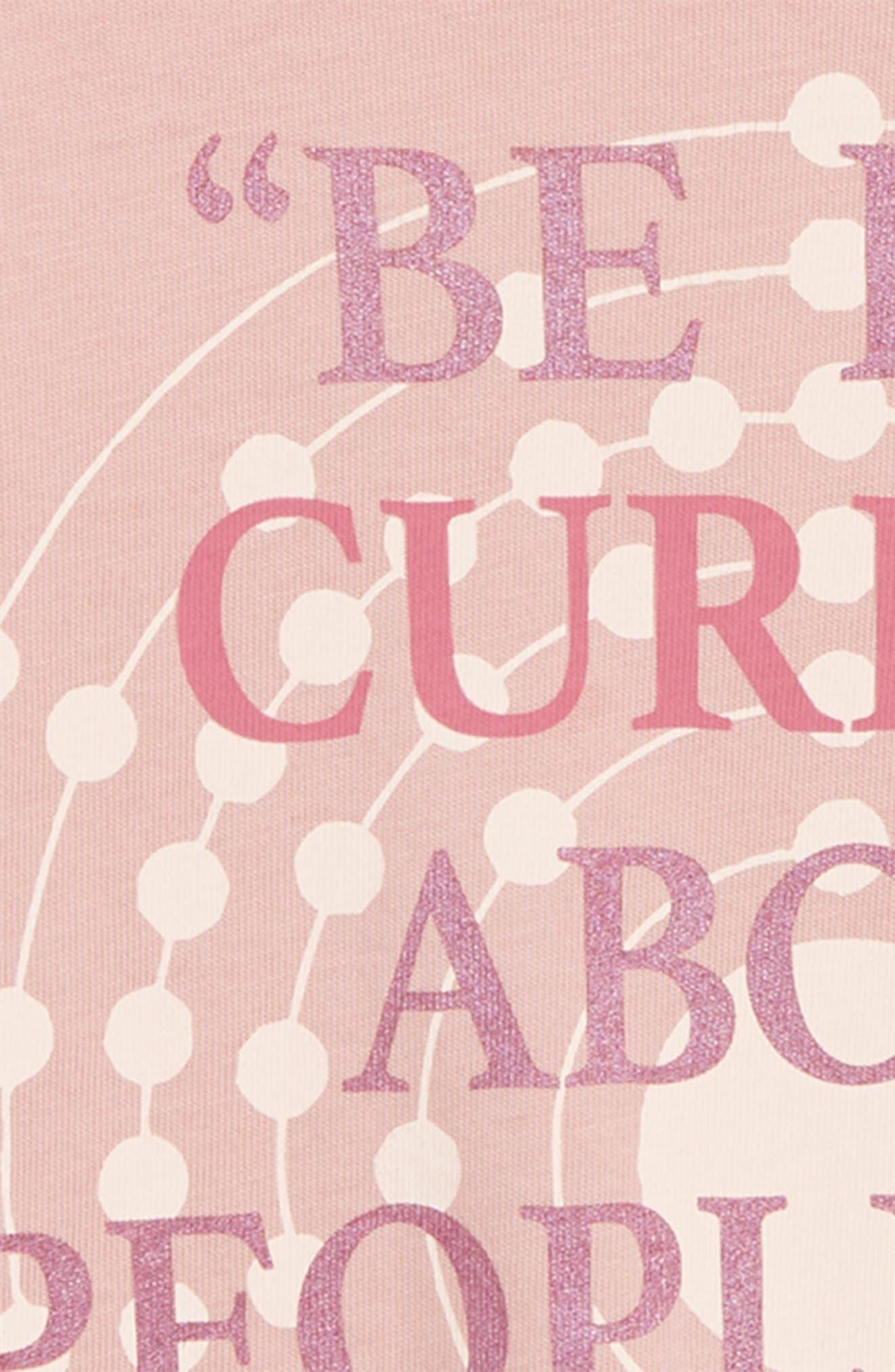 Curious Tee,                             Alternate thumbnail 3, color,                             LIGHT PINK